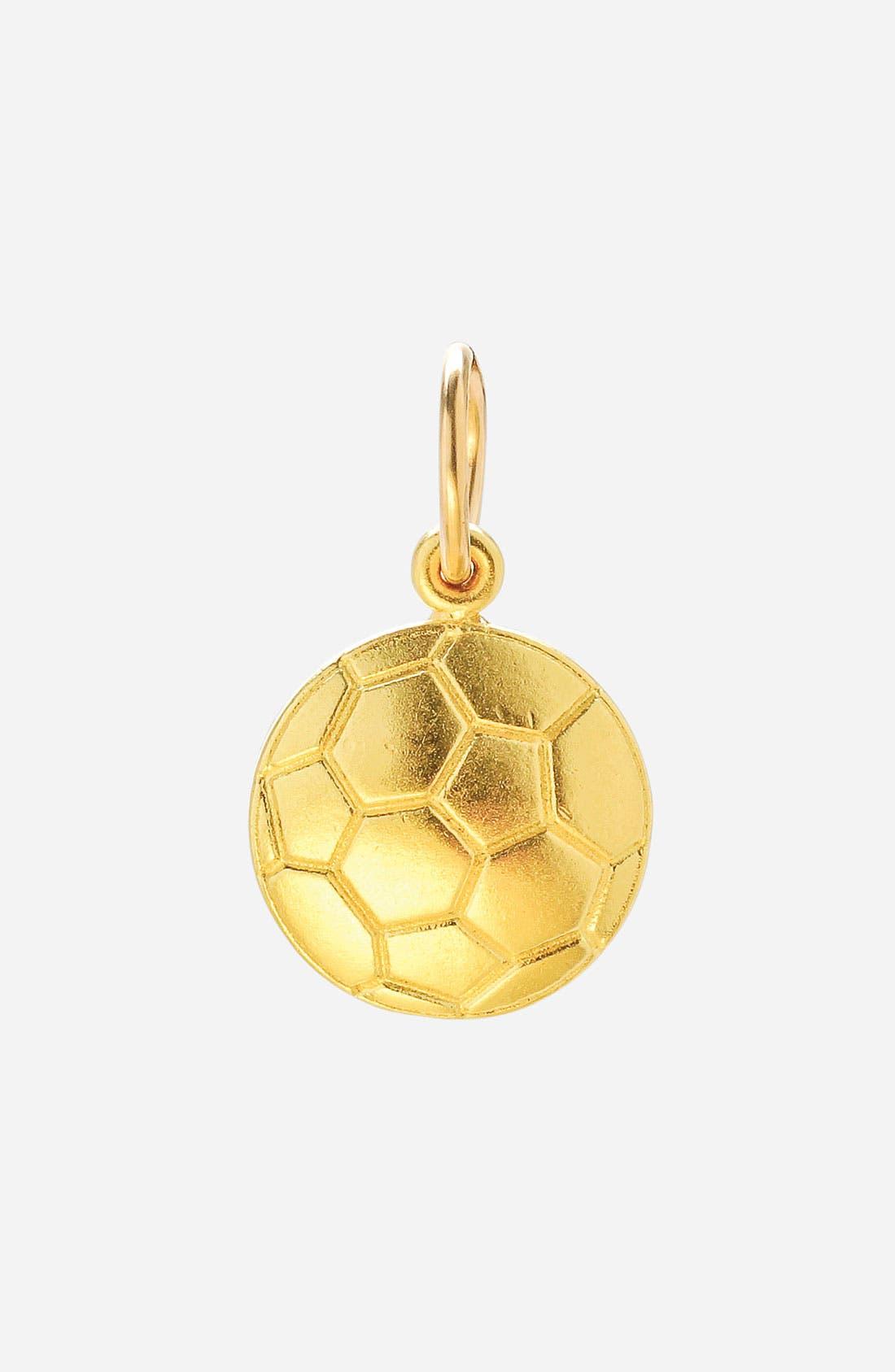 Main Image - Dogeared 'Create - Hobby' Soccer Ball Charm
