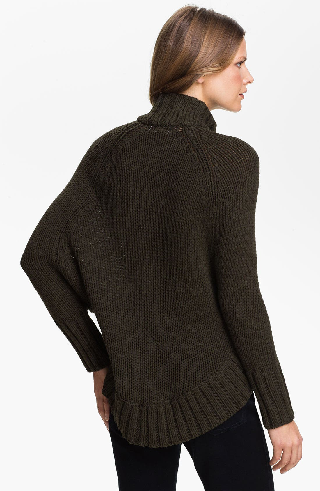 Alternate Image 2  - MICHAEL Michael Kors Toggle Cape Cardigan