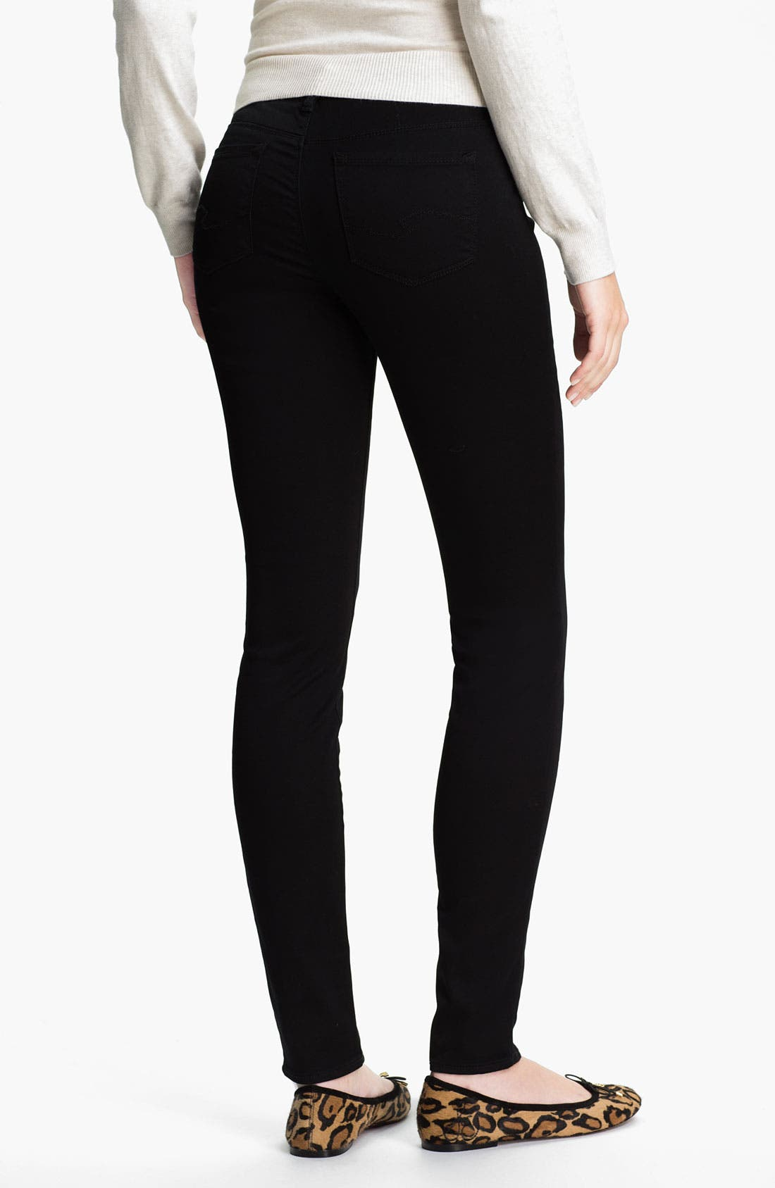 Alternate Image 1 Selected - Silver Jeans Co. 'Ashlee' Stretch Skinny Jeans (Juniors)