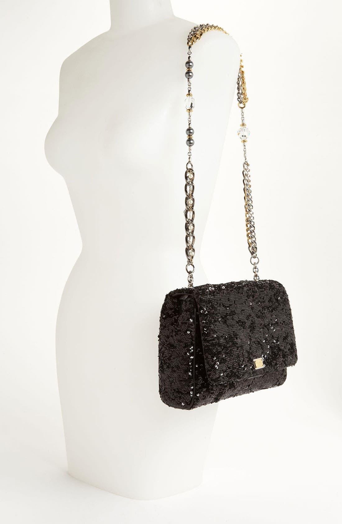 Alternate Image 2  - Dolce&Gabbana 'Miss Charles' Sequin Shoulder Bag