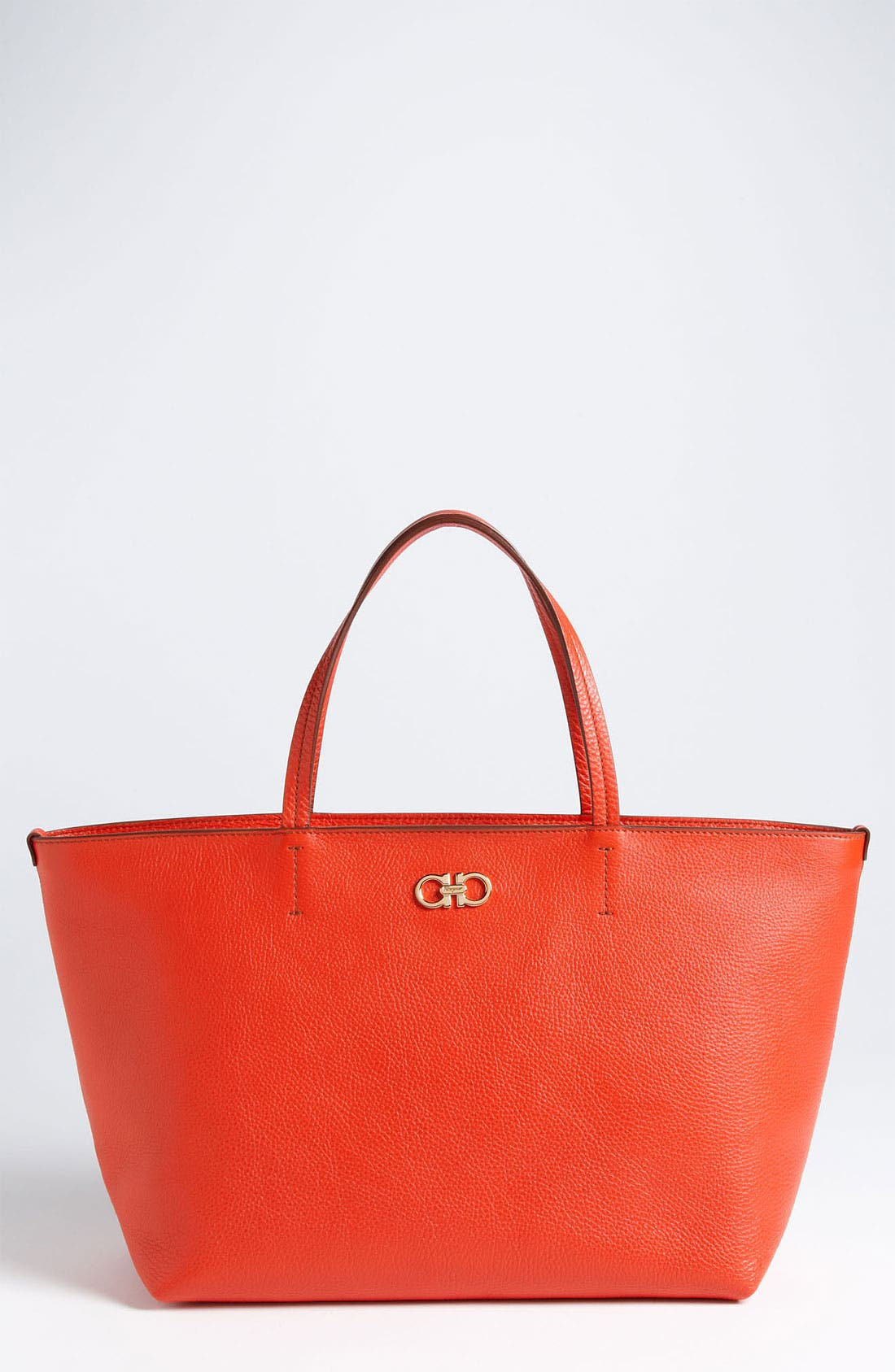 Alternate Image 1 Selected - Salvatore Ferragamo 'Bice' Leather Tote
