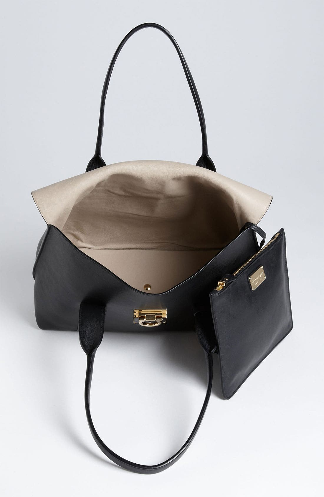 Alternate Image 3  - Salvatore Ferragamo 'Medium Sookie' Leather Satchel