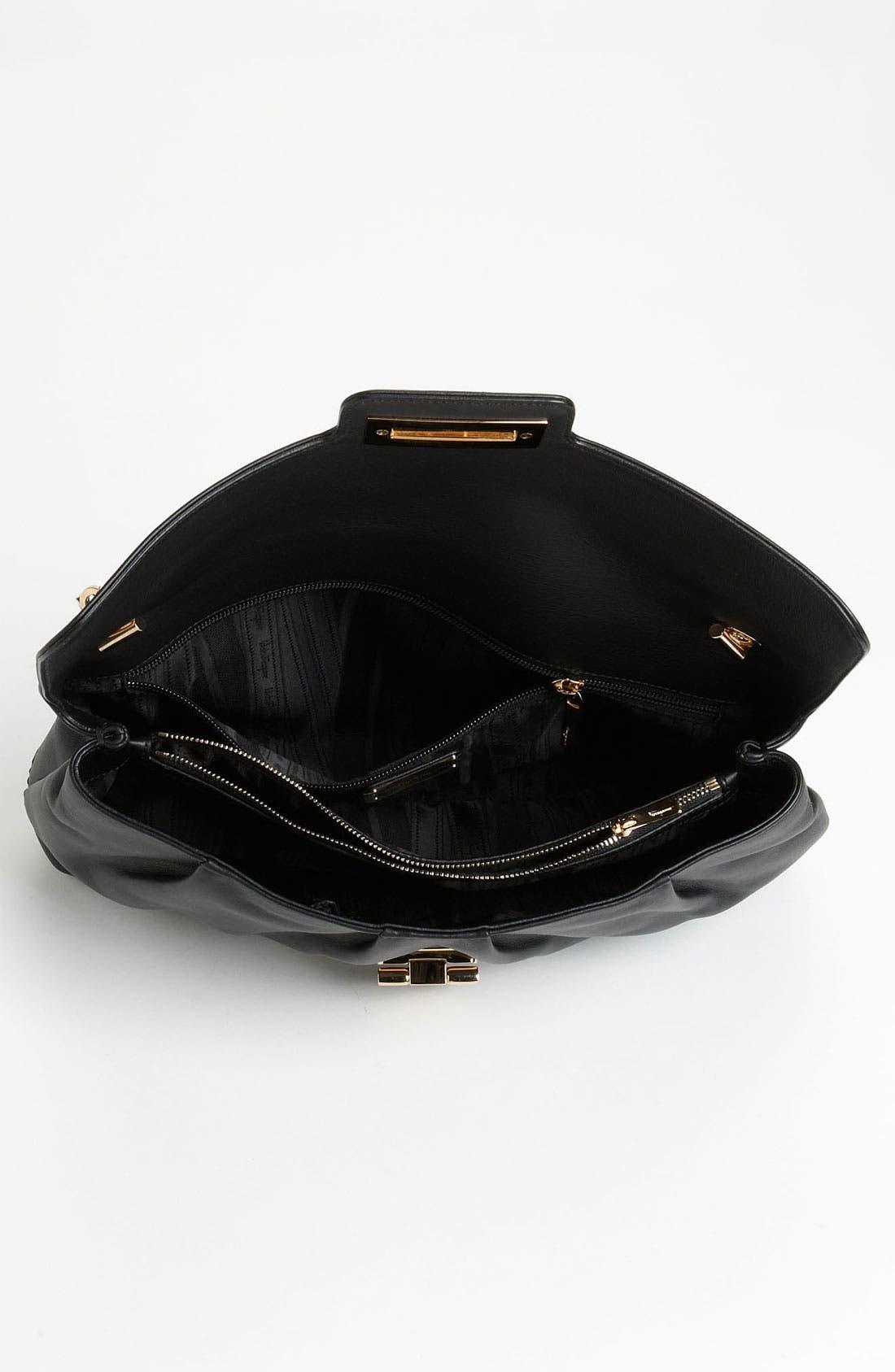 Alternate Image 3  - Salvatore Ferragamo Chain Strap Leather Shoulder Bag