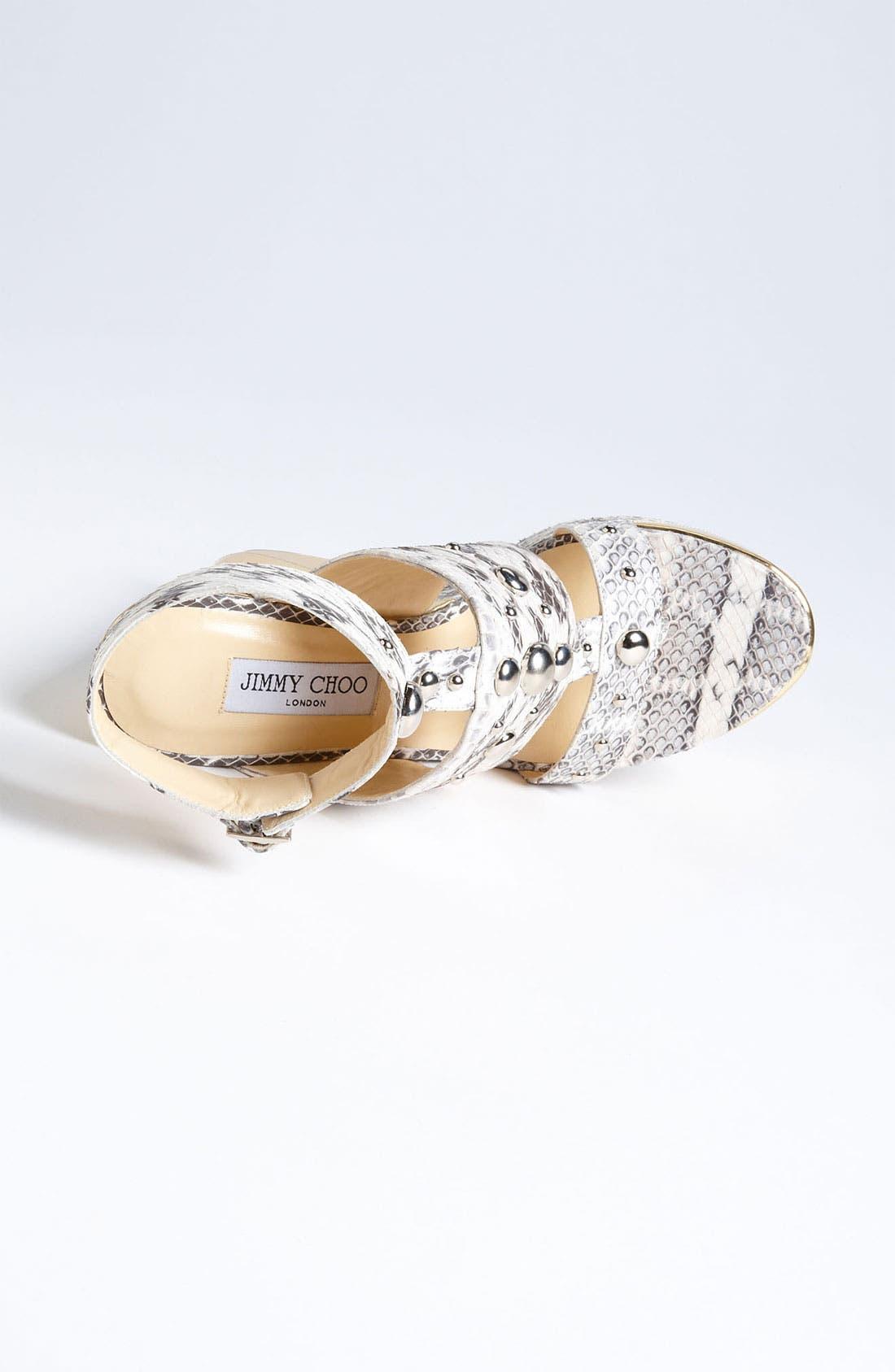 Alternate Image 3  - Jimmy Choo 'Bibi' Wedge Sandal