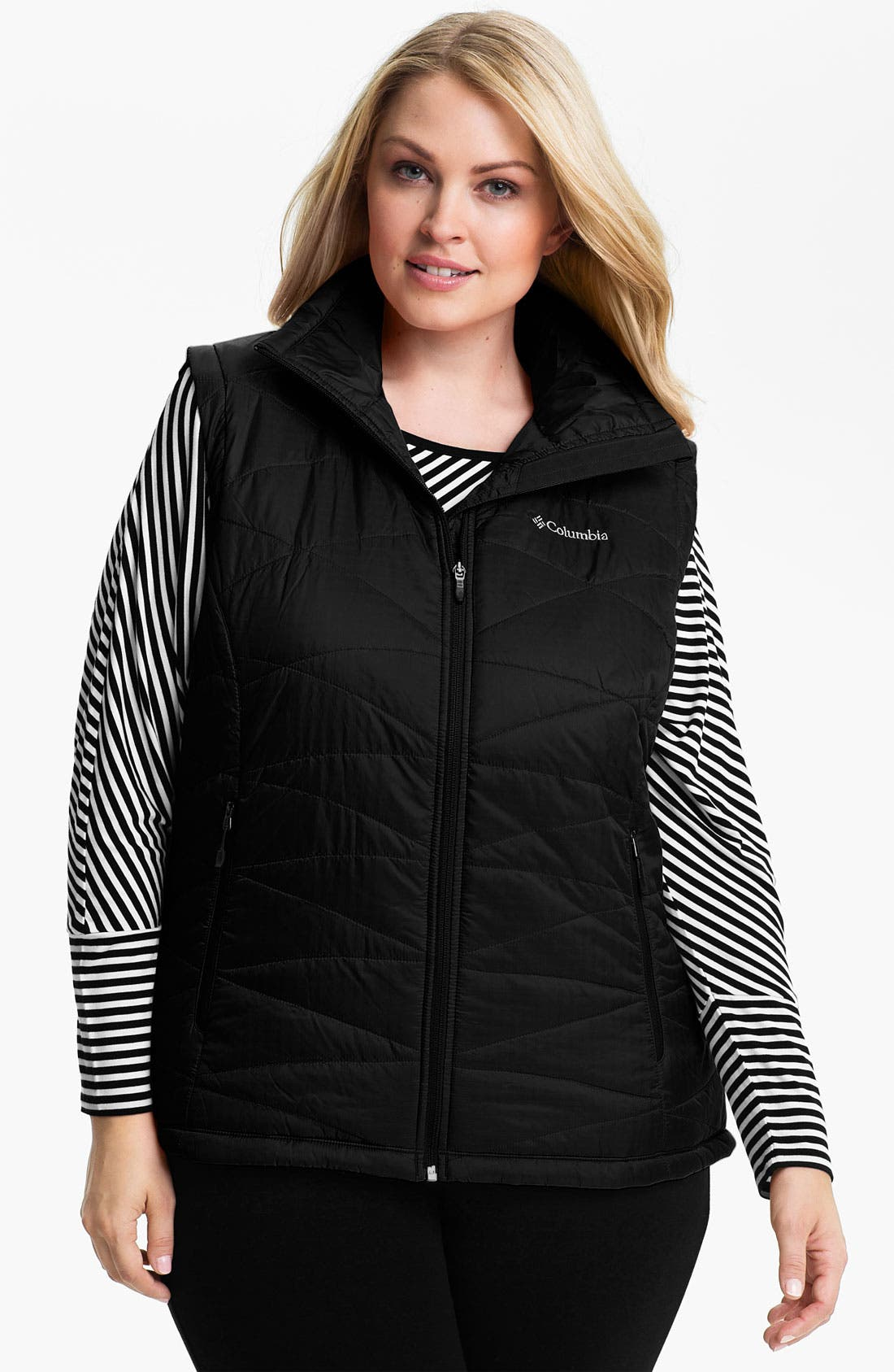Alternate Image 1 Selected - Columbia 'Might Lite' Quilted Vest (Plus)