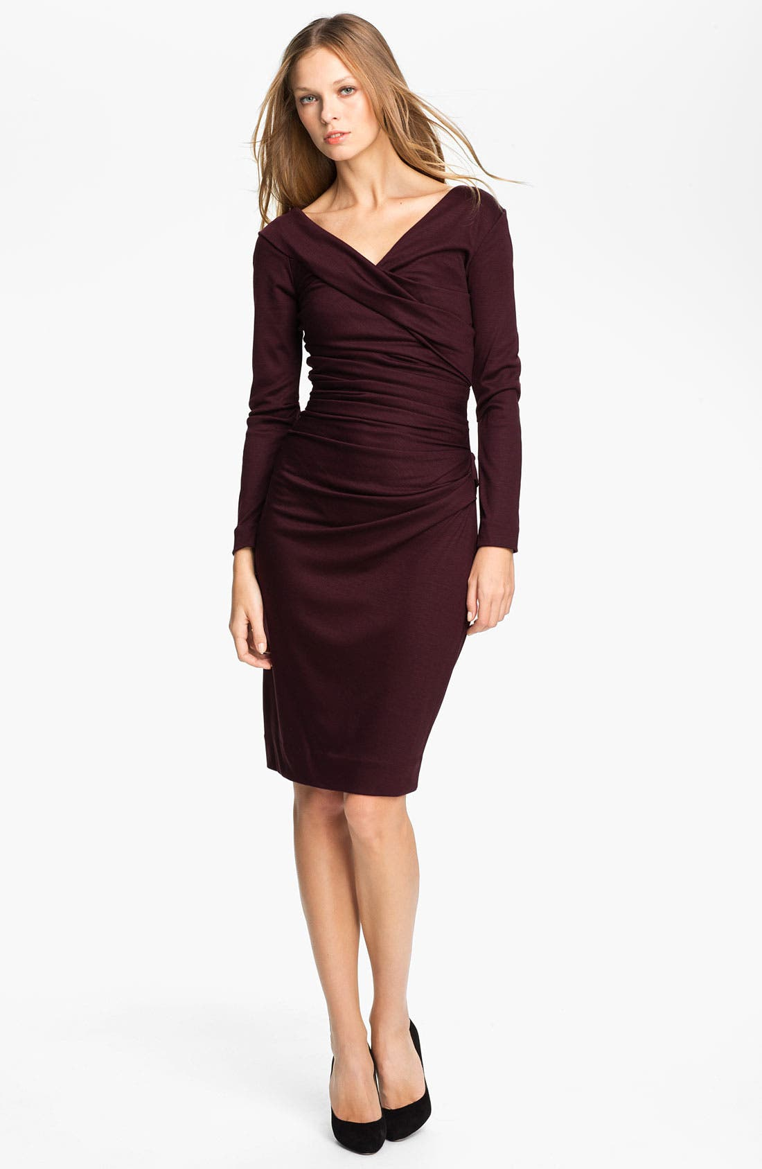 Alternate Image 1 Selected - Diane von Furstenberg 'Bentley' Wool Midi Dress