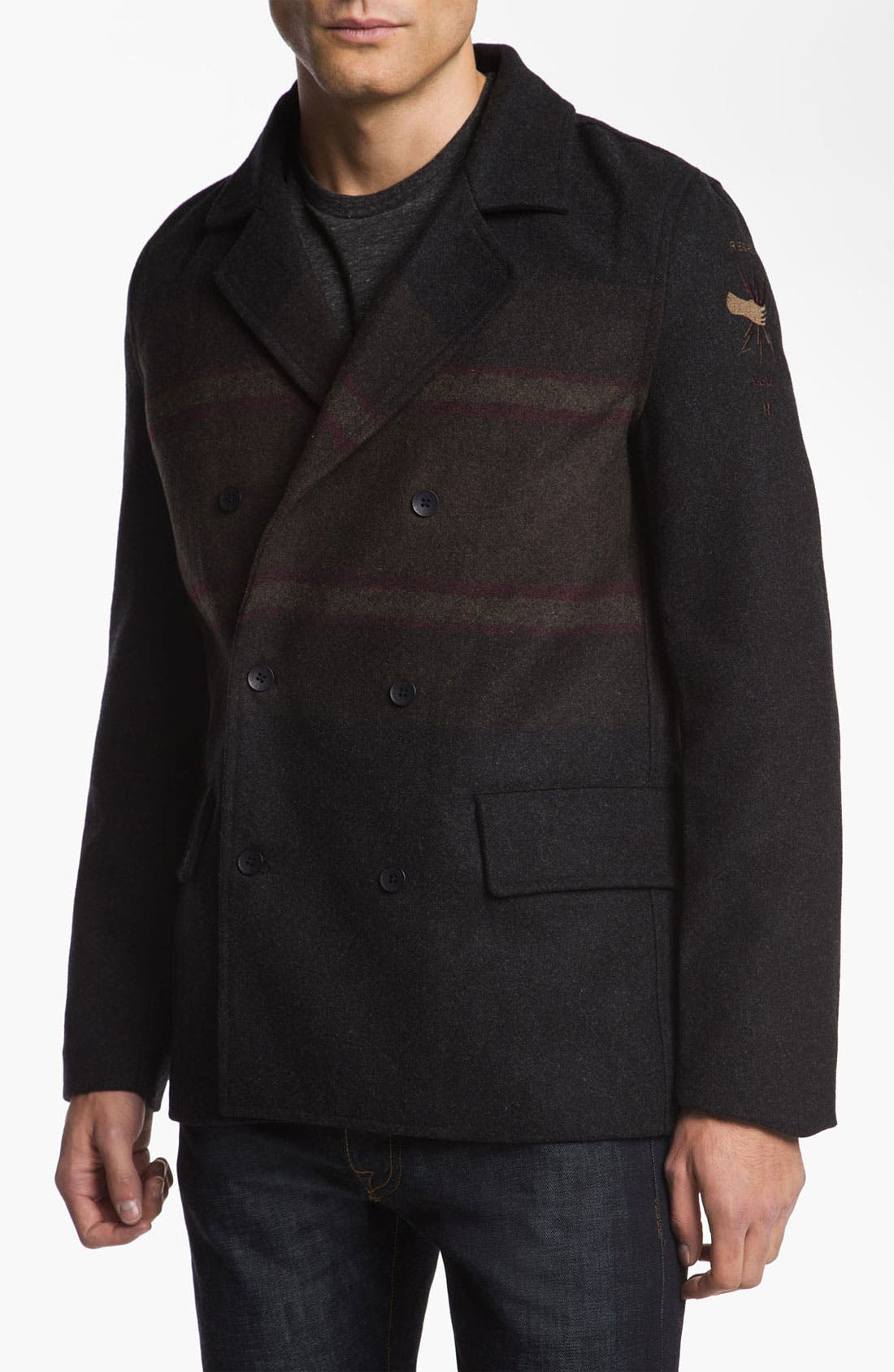 Alternate Image 1 Selected - Insight 'Downtown' Peacoat