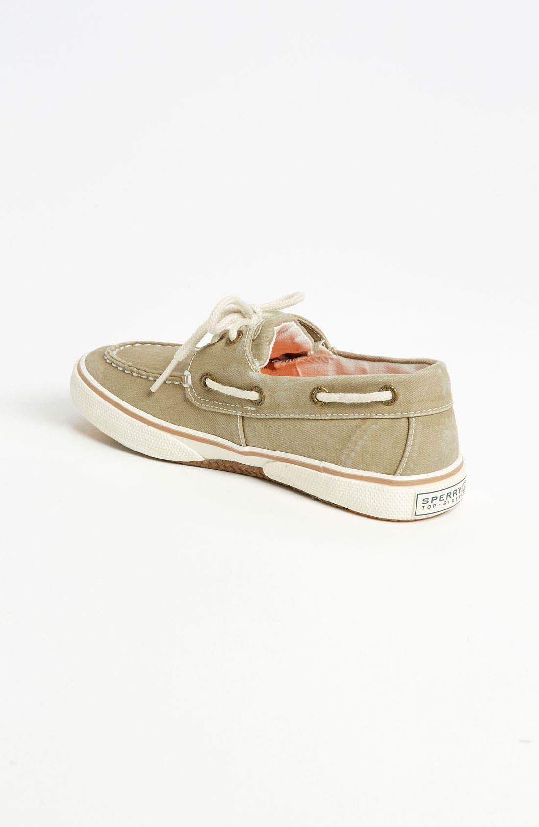 Alternate Image 2  - Sperry Top-Sider® Kids 'Halyard' Boat Shoe (Walker, Toddler, Little Kid & Big Kid)