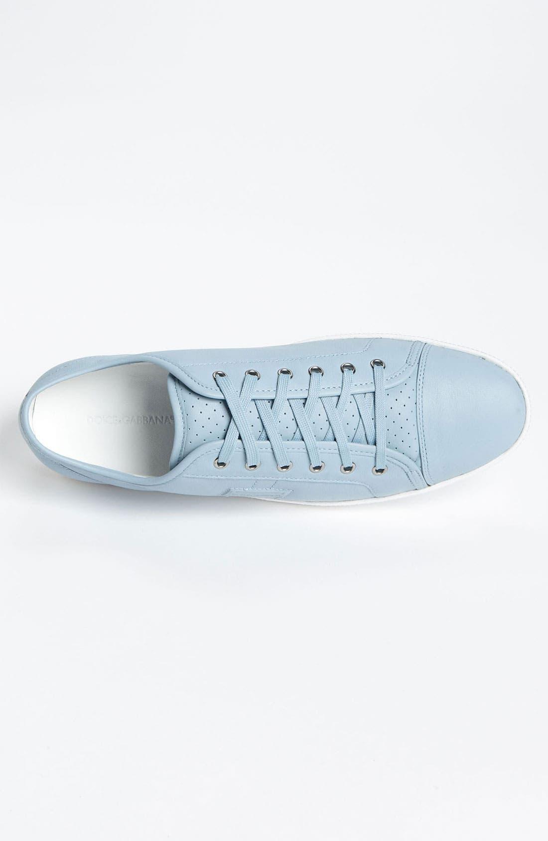 Alternate Image 3  - Dolce&Gabbana Calfskin Sneaker