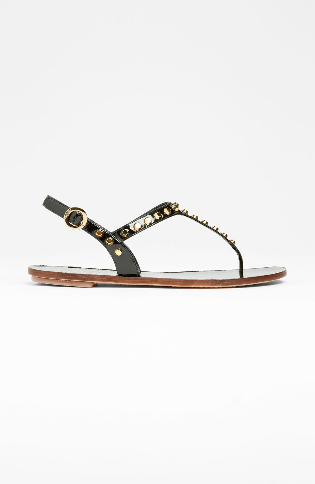 Alternate Image 4  - Prada Studded Thong Sandal