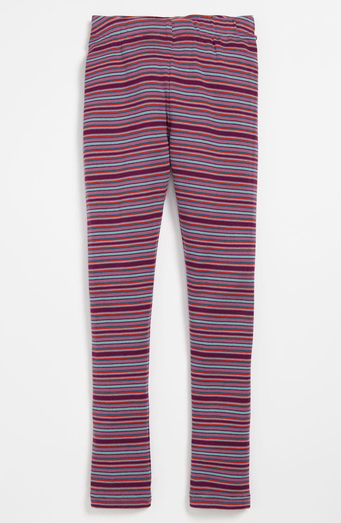 Alternate Image 1 Selected - Tea Collection 'Enchanted' Stripe Leggings (Little Girls & Big Girls)