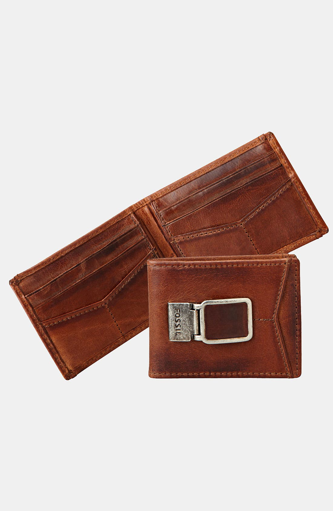 Main Image - Fossil 'Carson' ID Bifold Wallet