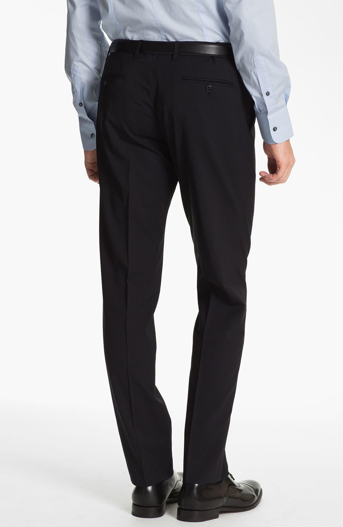 Alternate Image 5  - Dolce&Gabbana 'Martini' Stretch Wool Suit