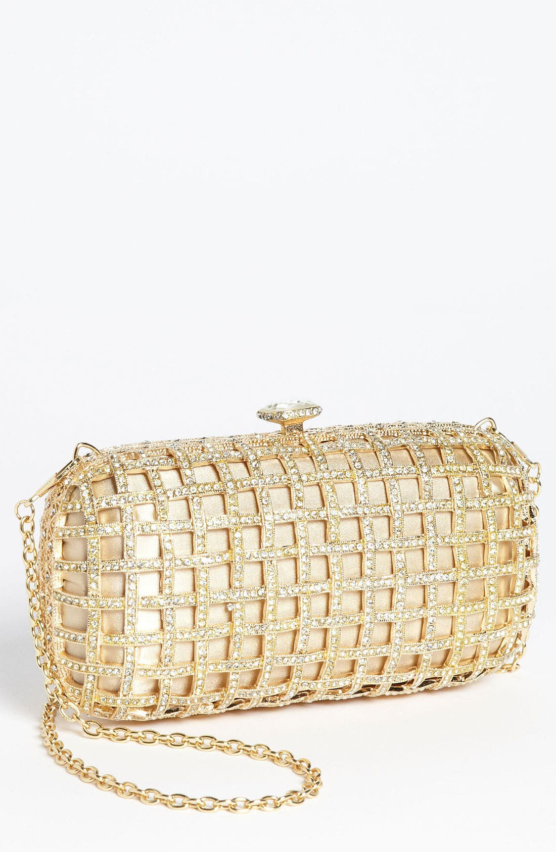 Main Image - Natasha Couture Caged Clutch