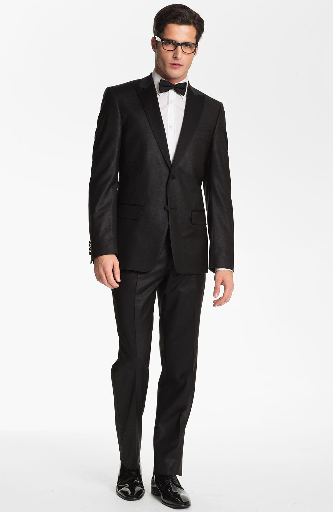 Alternate Image 1 Selected - Versace Collection City Fit Tuxedo (Online Only)