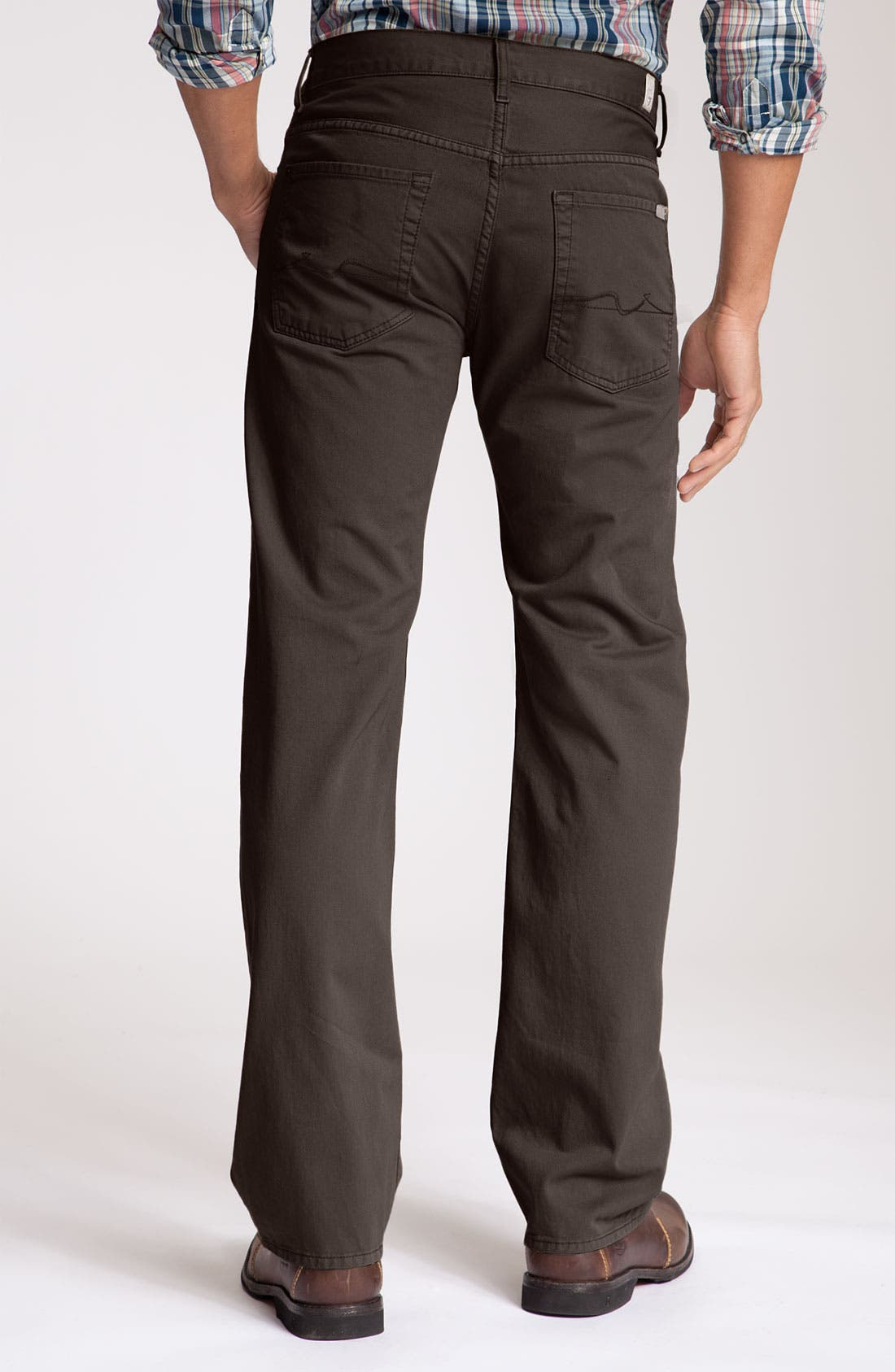 Alternate Image 1 Selected - 7 For All Mankind® 'Austyn' Twill Pants