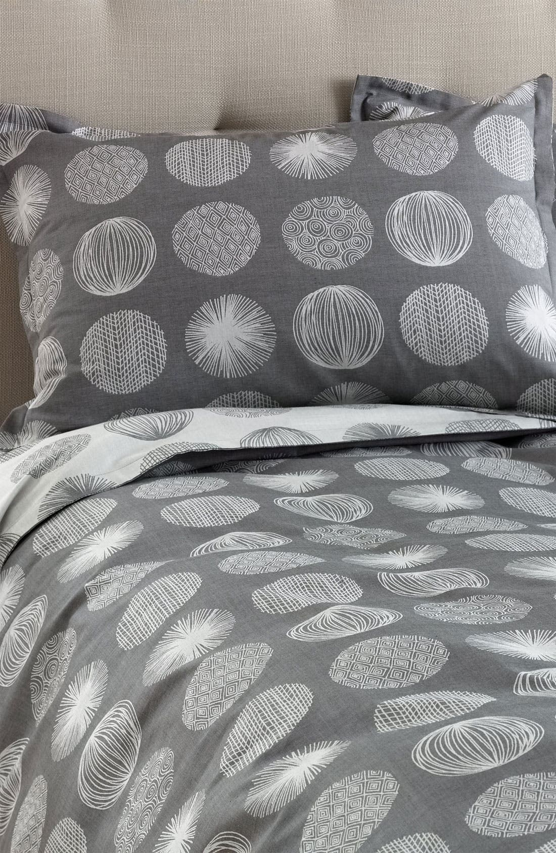Alternate Image 1 Selected - Nordstrom at Home 'Scribble Dots' 300 Thread Count Jacquard Pillow Sham