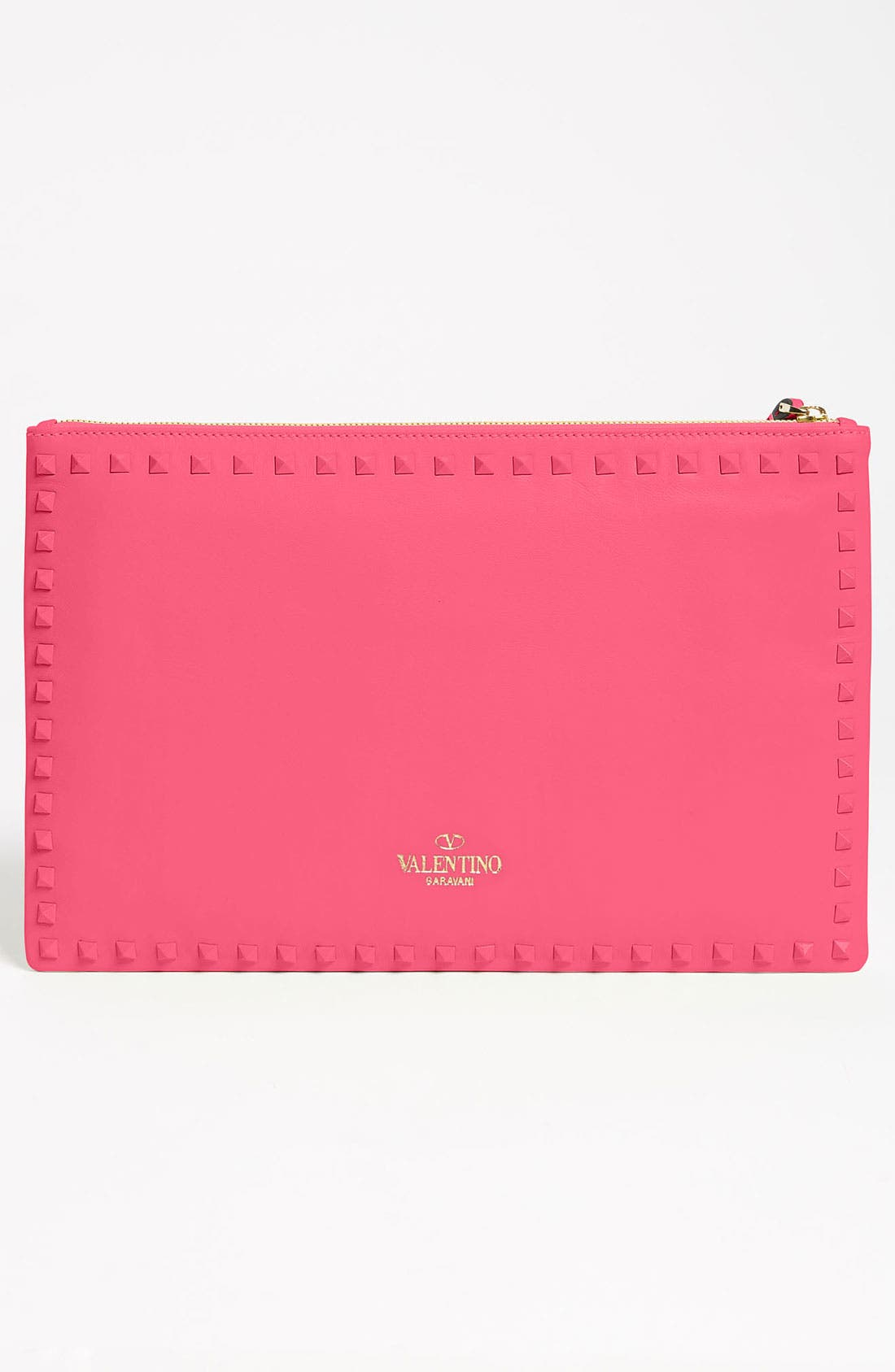 Alternate Image 4  - Valentino 'Rockstud - Small' Leather Clutch