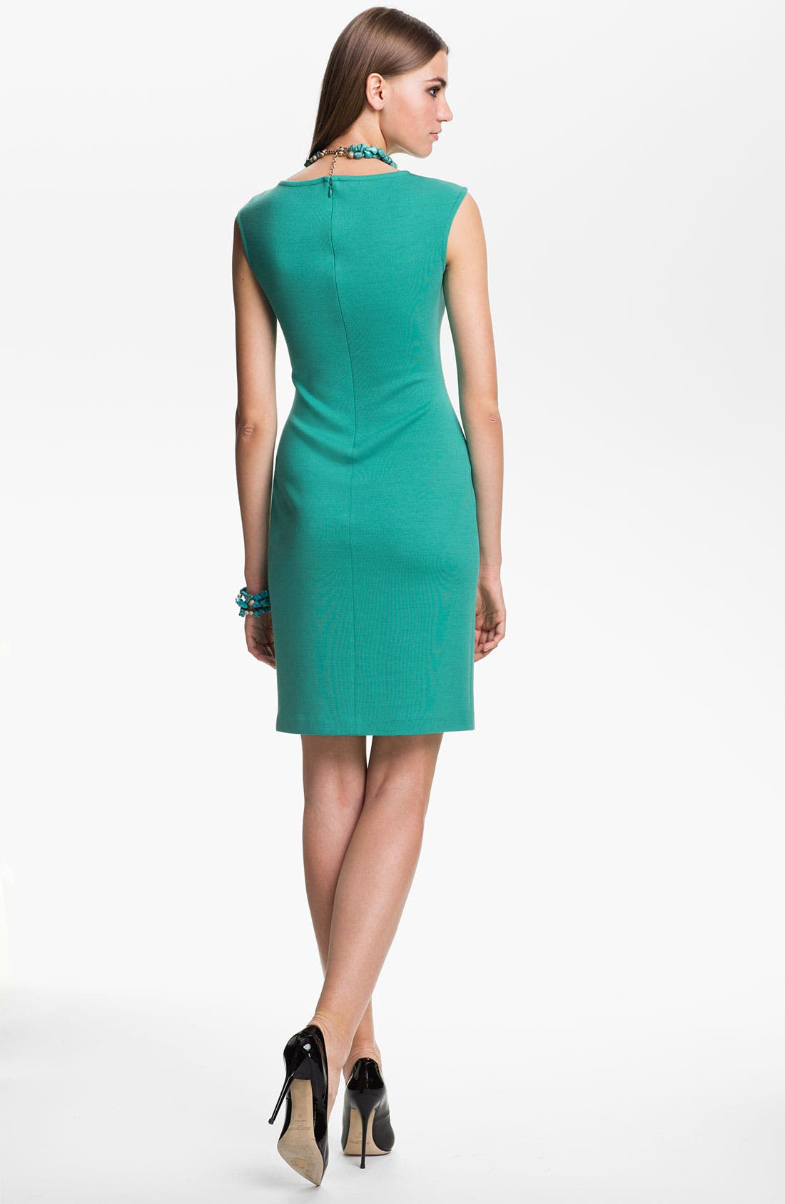 Alternate Image 2  - St. John Collection Knit Sheath Dress