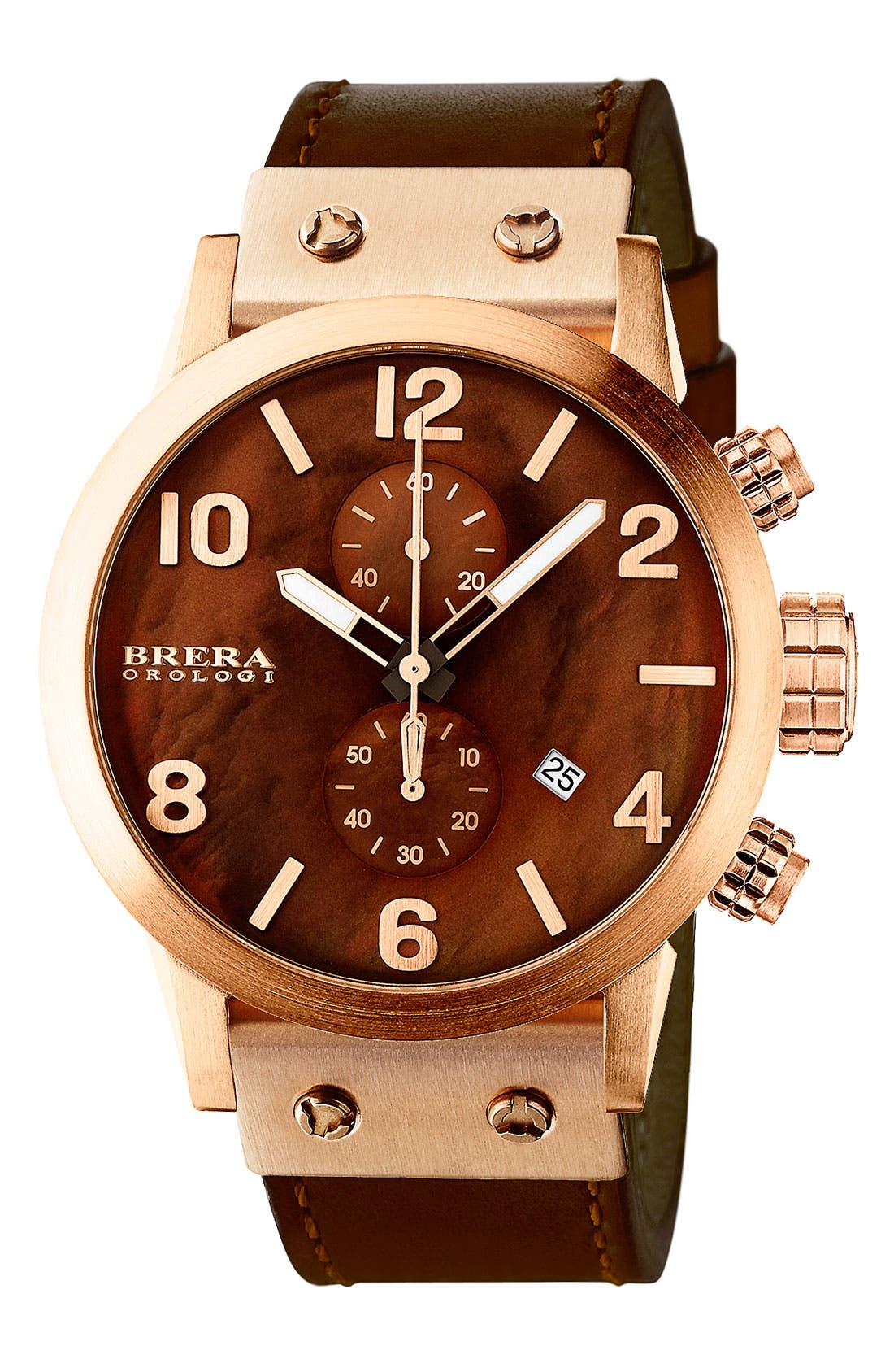 Alternate Image 1 Selected - ISBLA RG BRN DIAL COTTO CALF