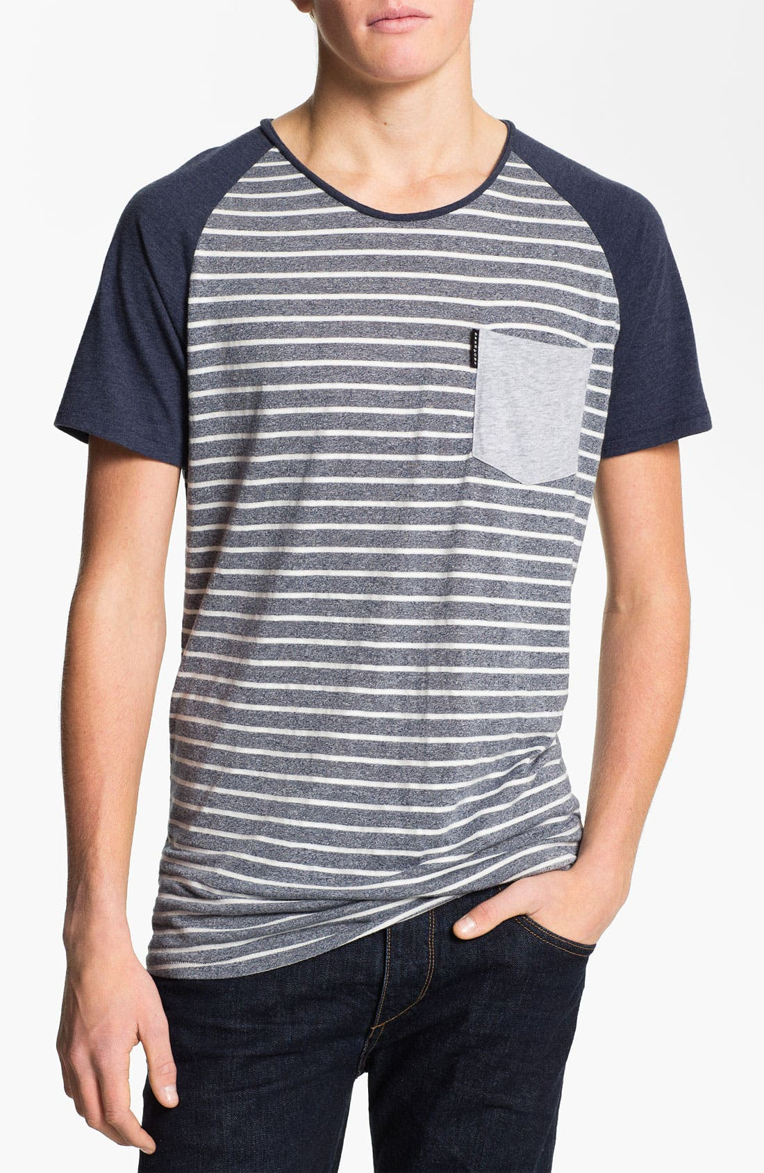 Alternate Image 1 Selected - ZANEROBE 'Duke' Stripe Scoop Neck T-Shirt