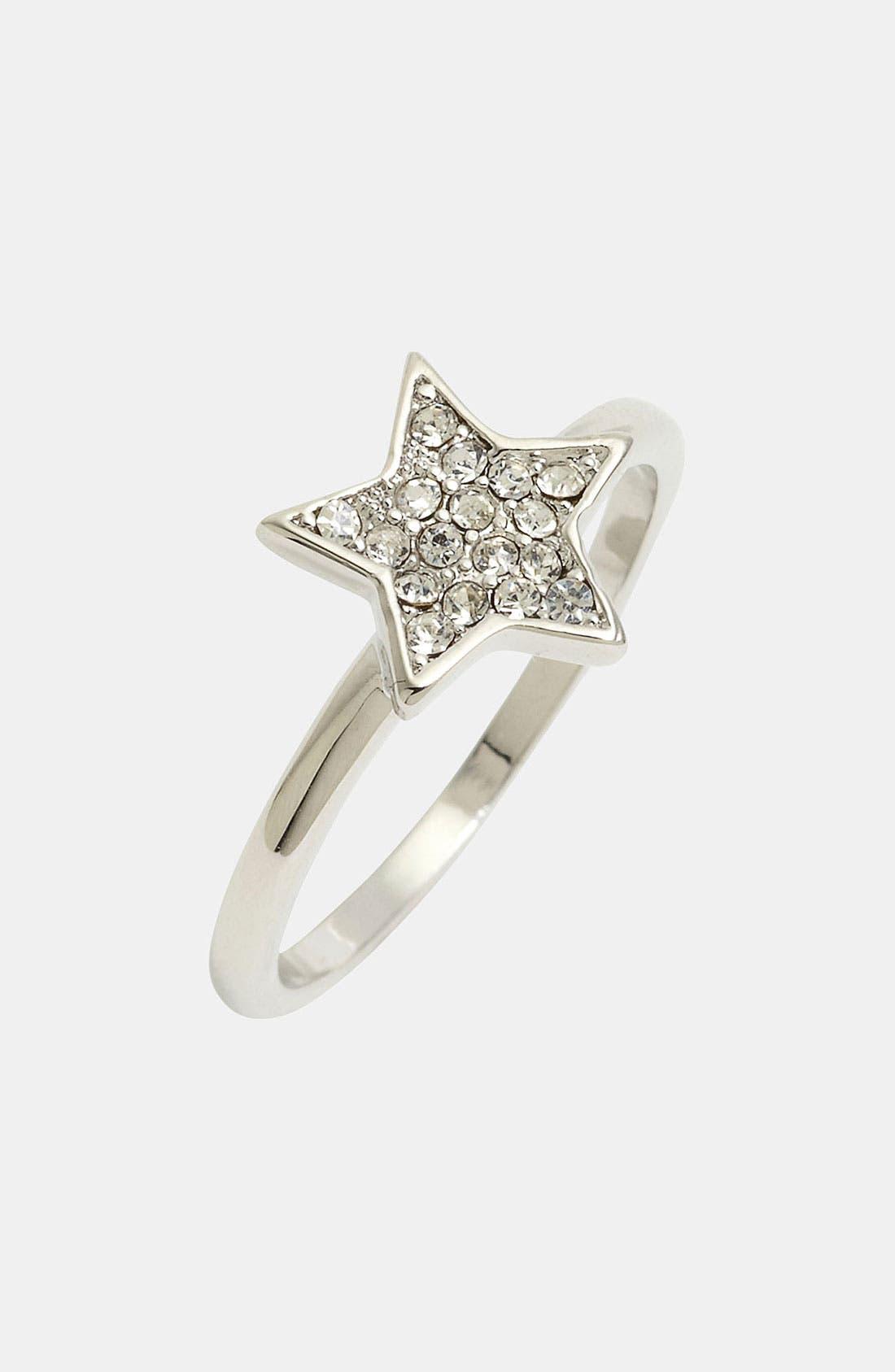 Main Image - Ariella Collection Pavé Star Ring