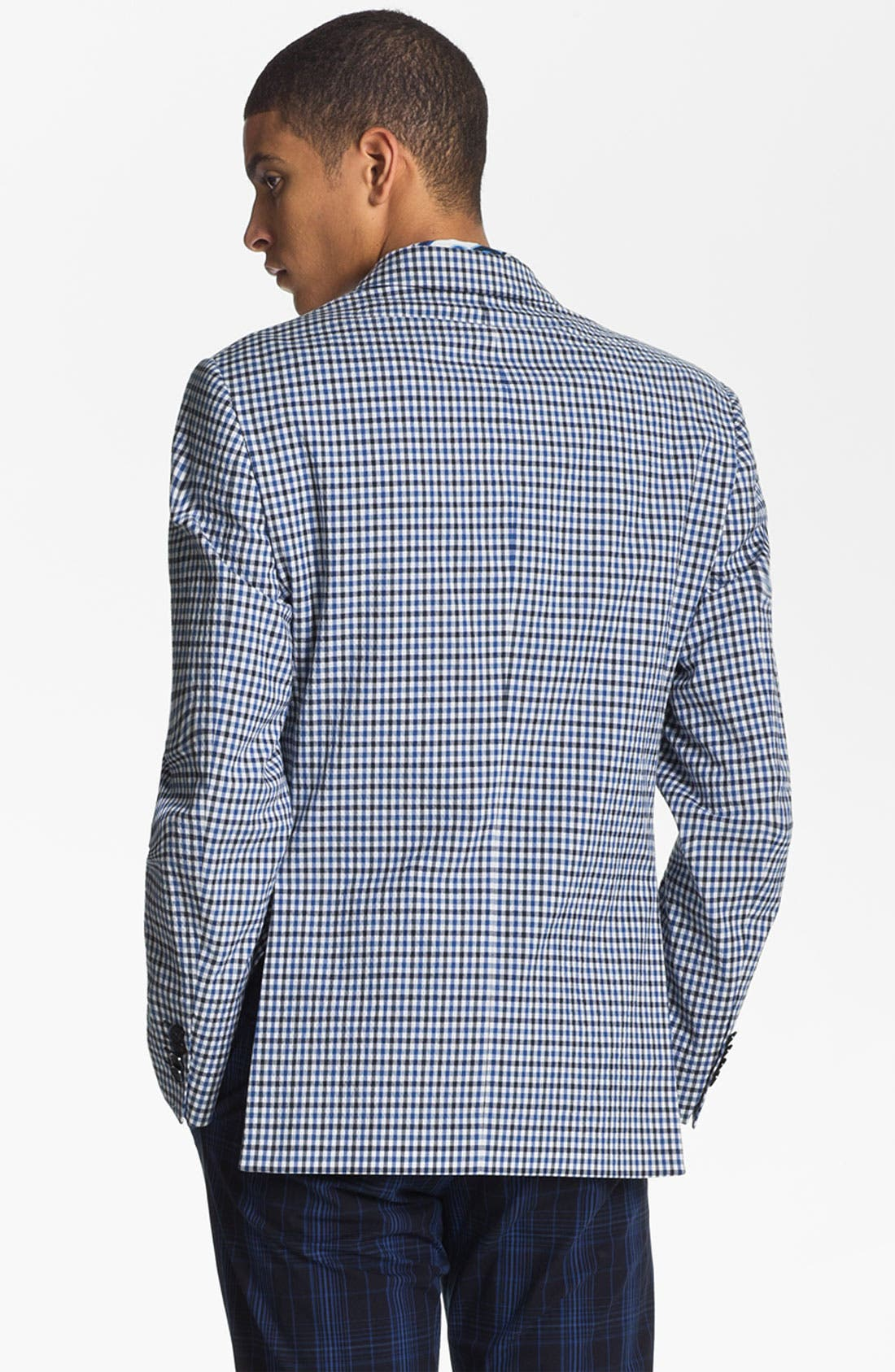 Alternate Image 2  - Etro 'Minerva' Gingham Blazer