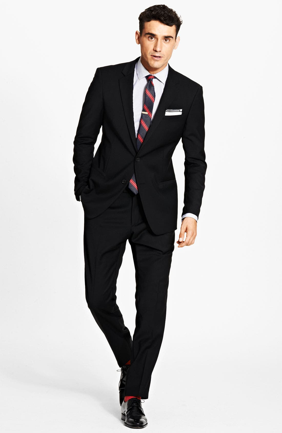 Alternate Image 2  - Dolce&Gabbana Solid Suit