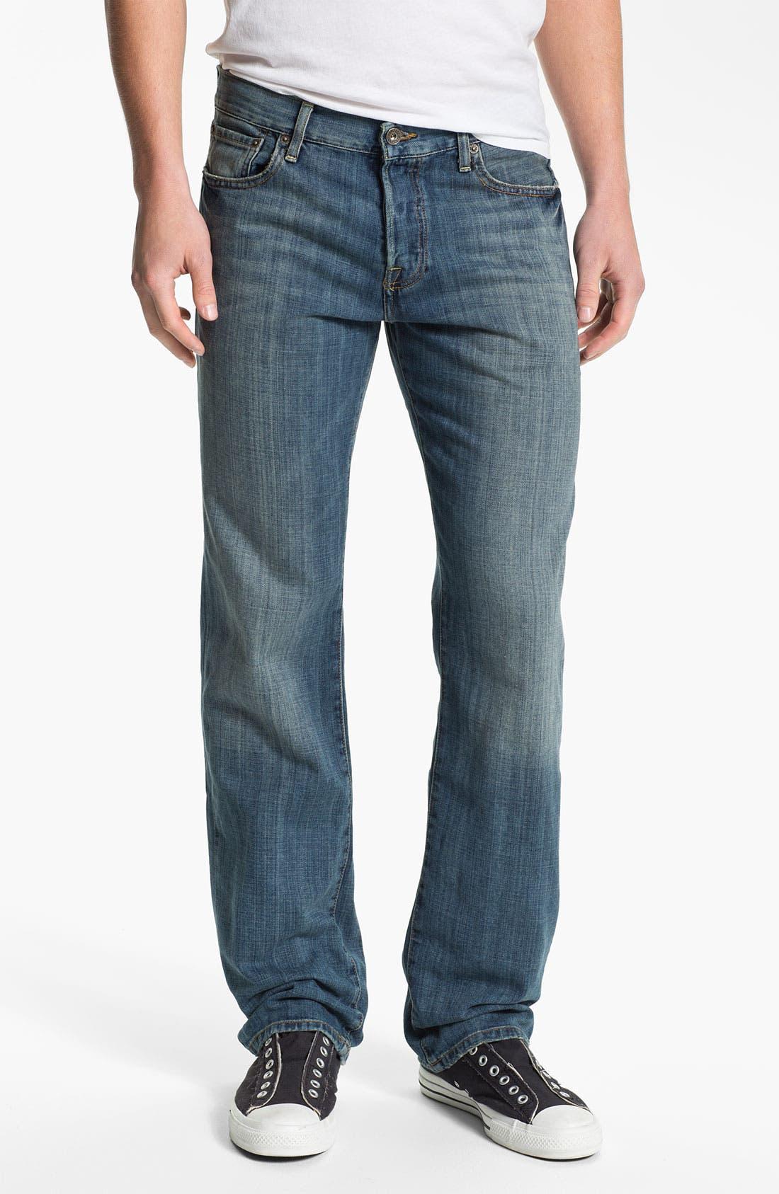 Main Image - Lucky Brand '221 Original' Straight Leg Jeans (Quartzite)