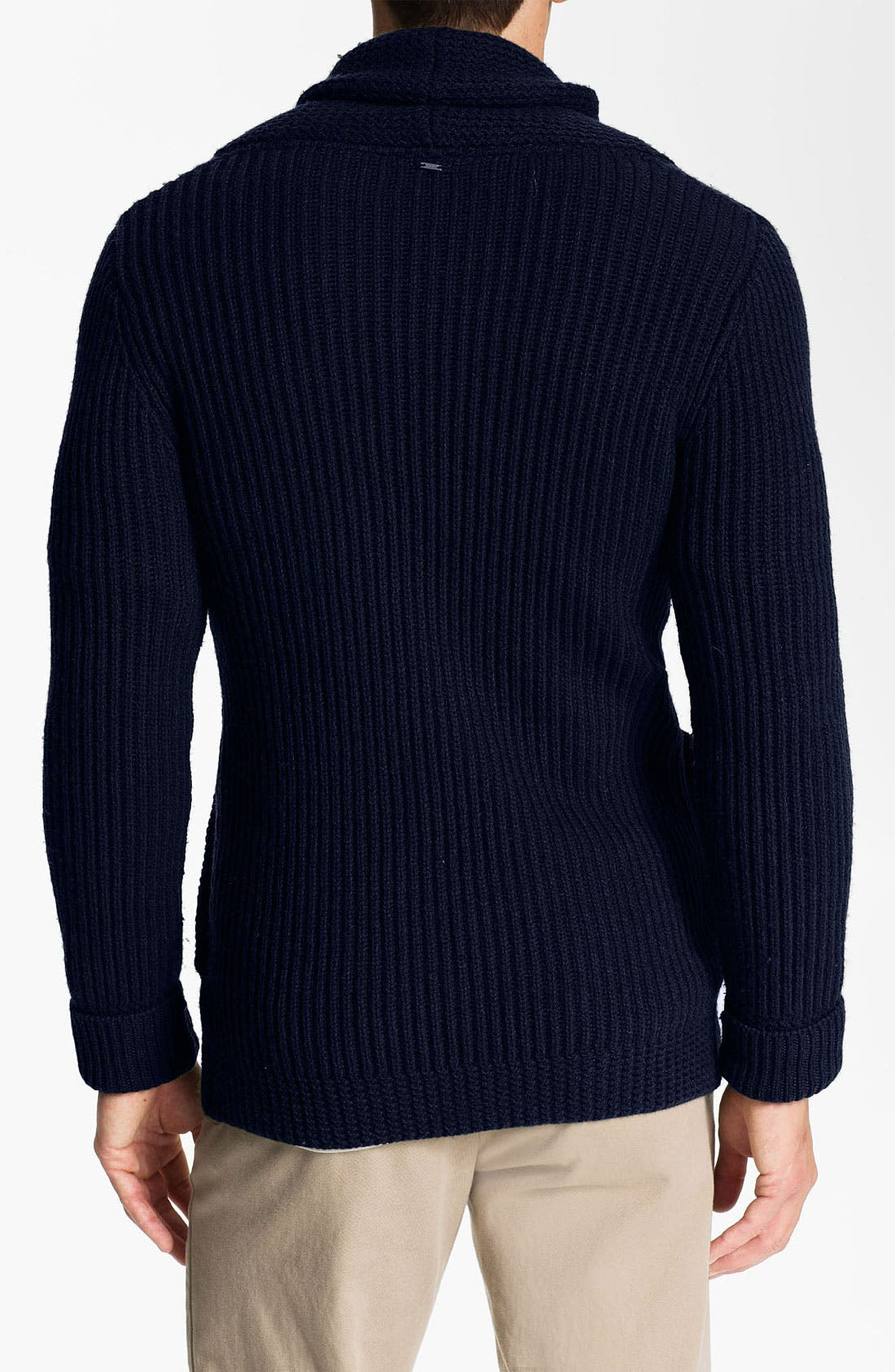 Alternate Image 2  - G-Star Raw 'Oxford' Shawl Collar Sweater