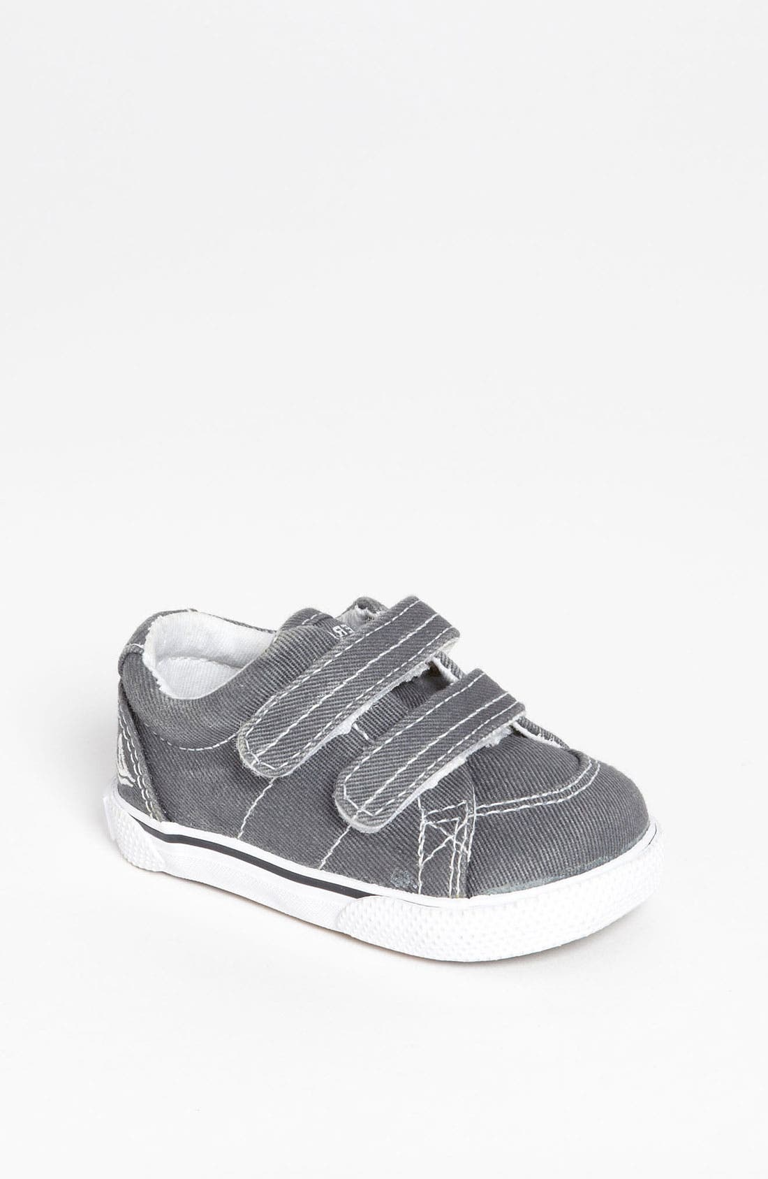 Alternate Image 1 Selected - Sperry Kids 'Halyard' Crib Shoe (Baby)