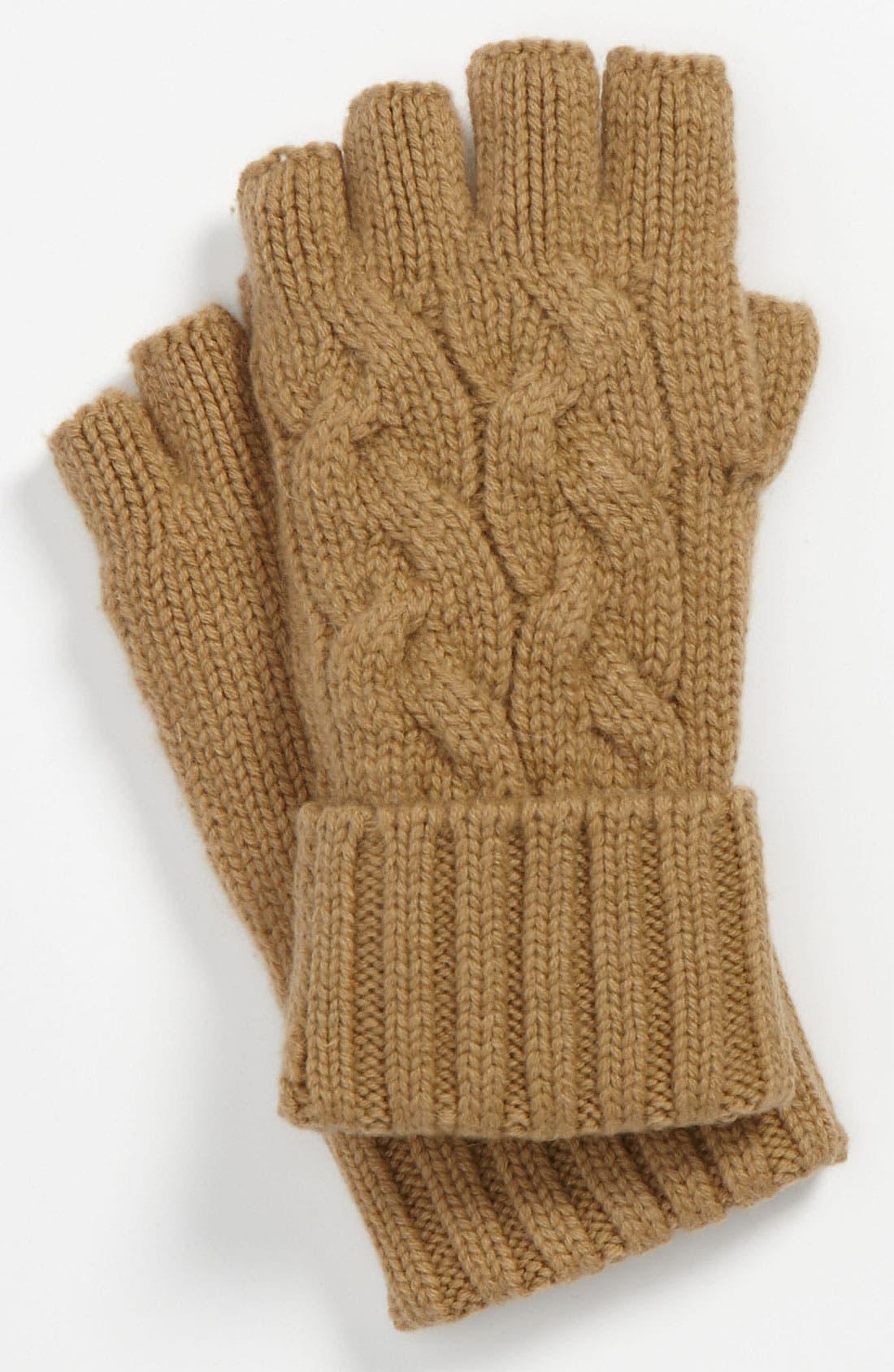 Alternate Image 1 Selected - Michael Kors Fingerless Gloves