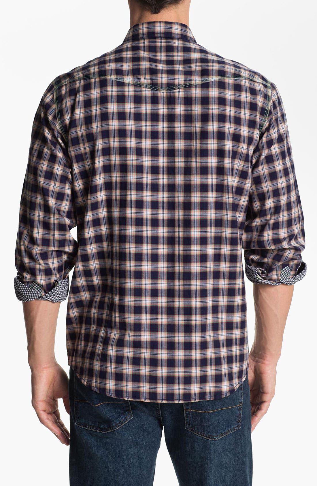 Alternate Image 2  - Tommy Bahama Denim 'Vis-à-Vis' Sport Shirt