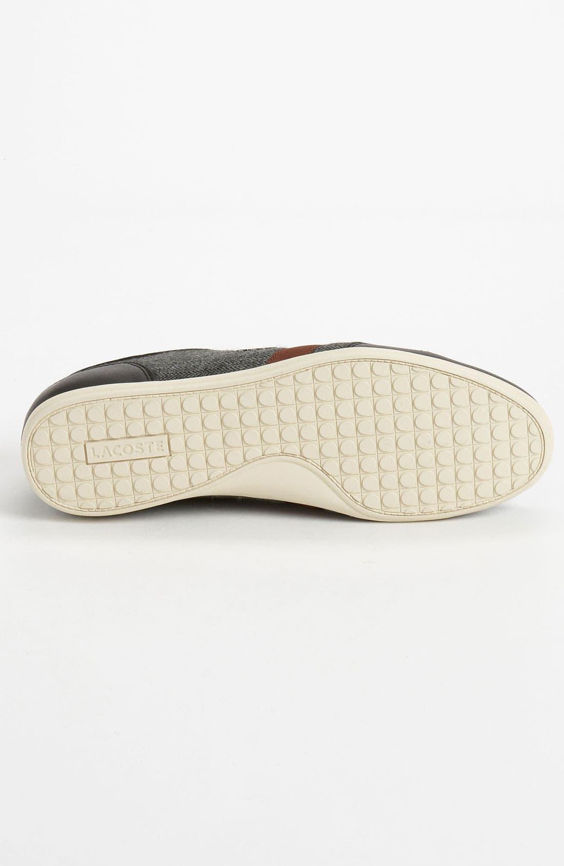 Alternate Image 4  - Lacoste 'Alisos 7' Sneaker