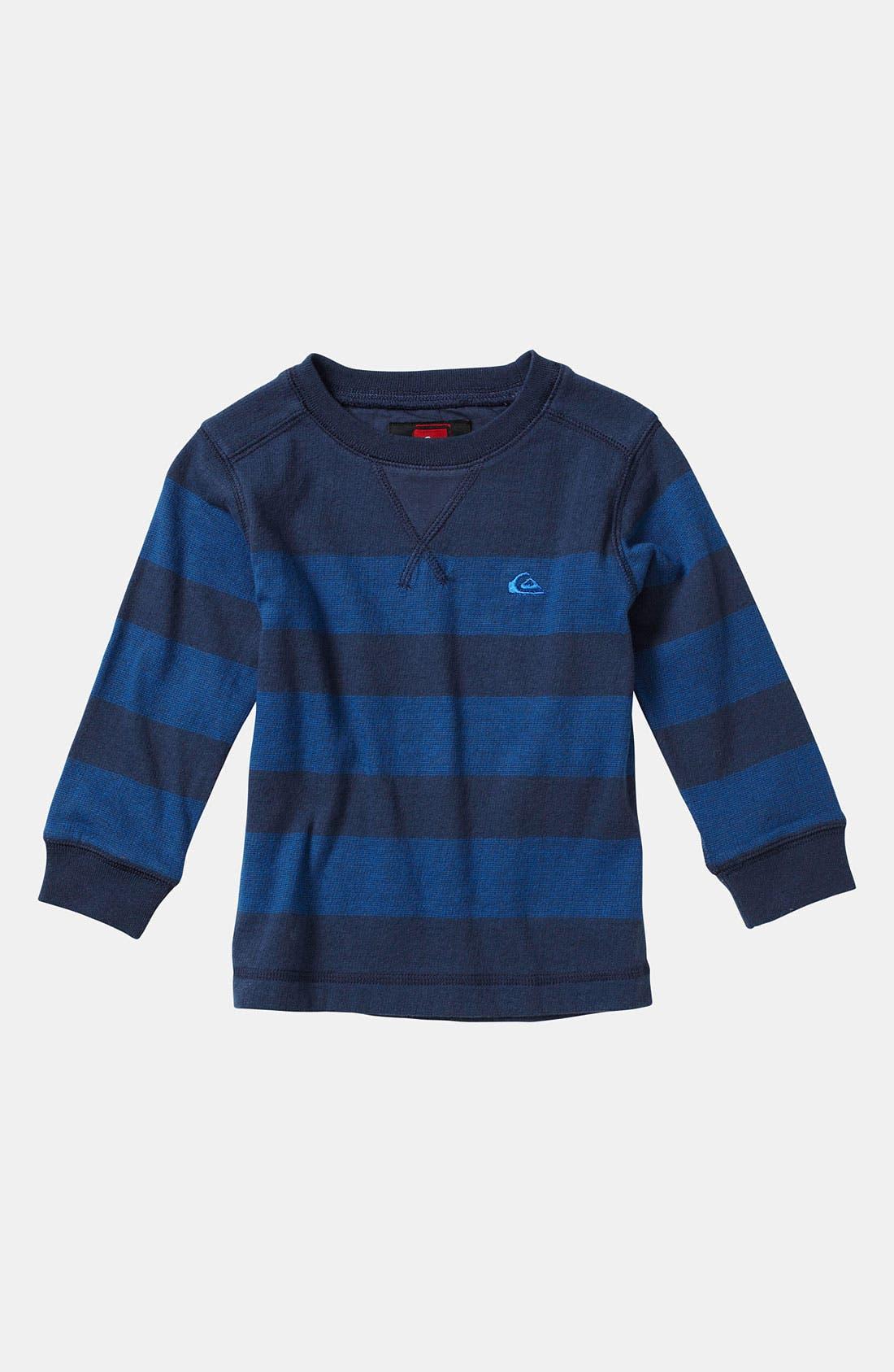 Main Image - Quiksilver 'Snit' Stripe Shirt (Toddler)