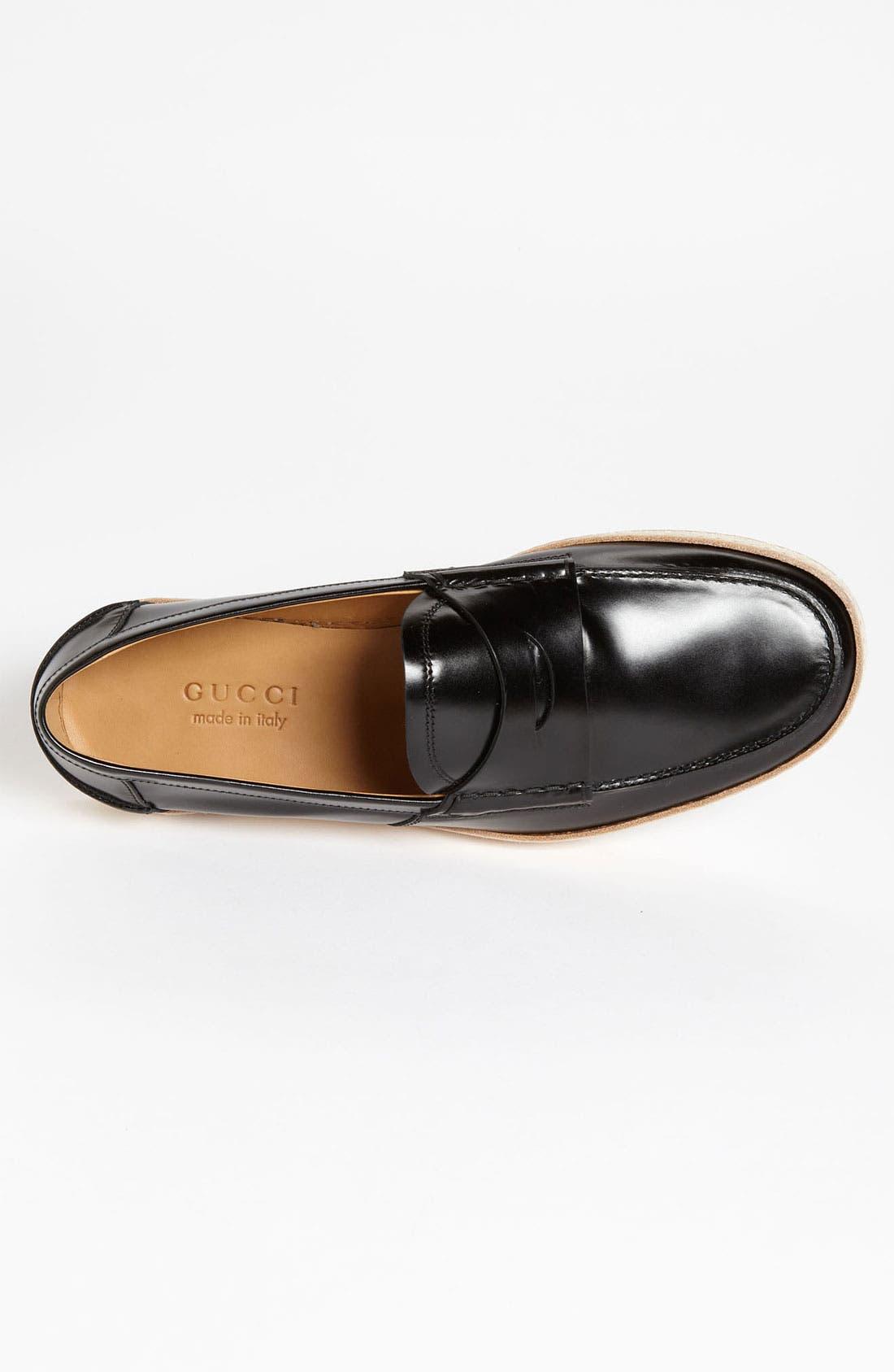 Alternate Image 3  - Gucci 'Gand' Penny Loafer