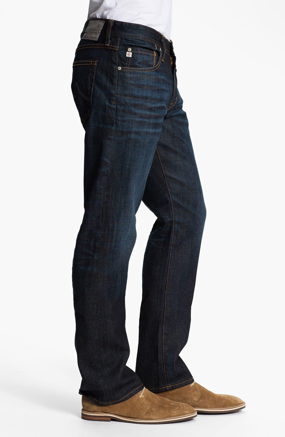 Alternate Image 3  - AG Jeans 'Protégé' Straight Leg Jeans (Two Year Dusk)