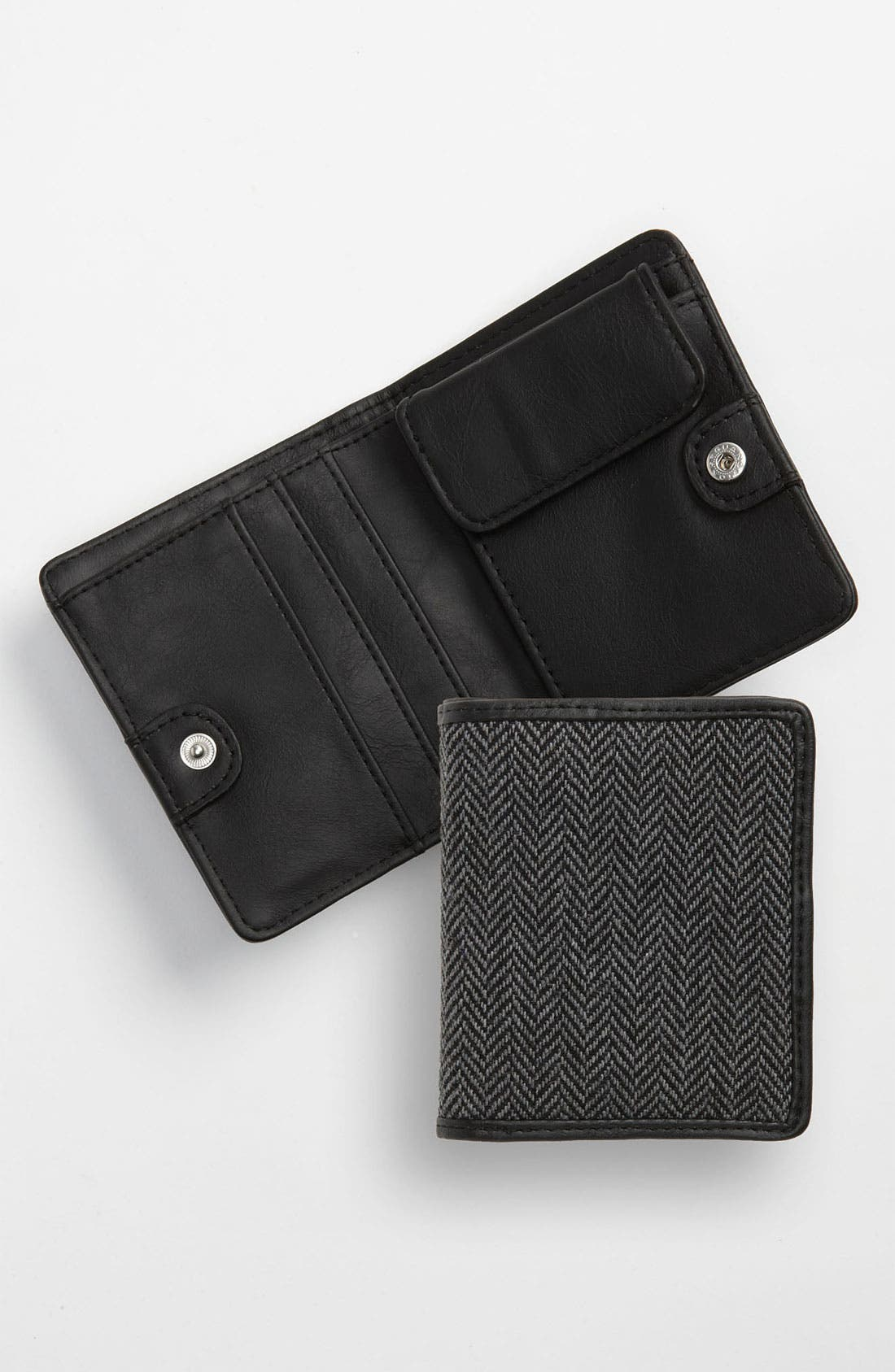 Alternate Image 1 Selected - Topman Herringbone Wallet