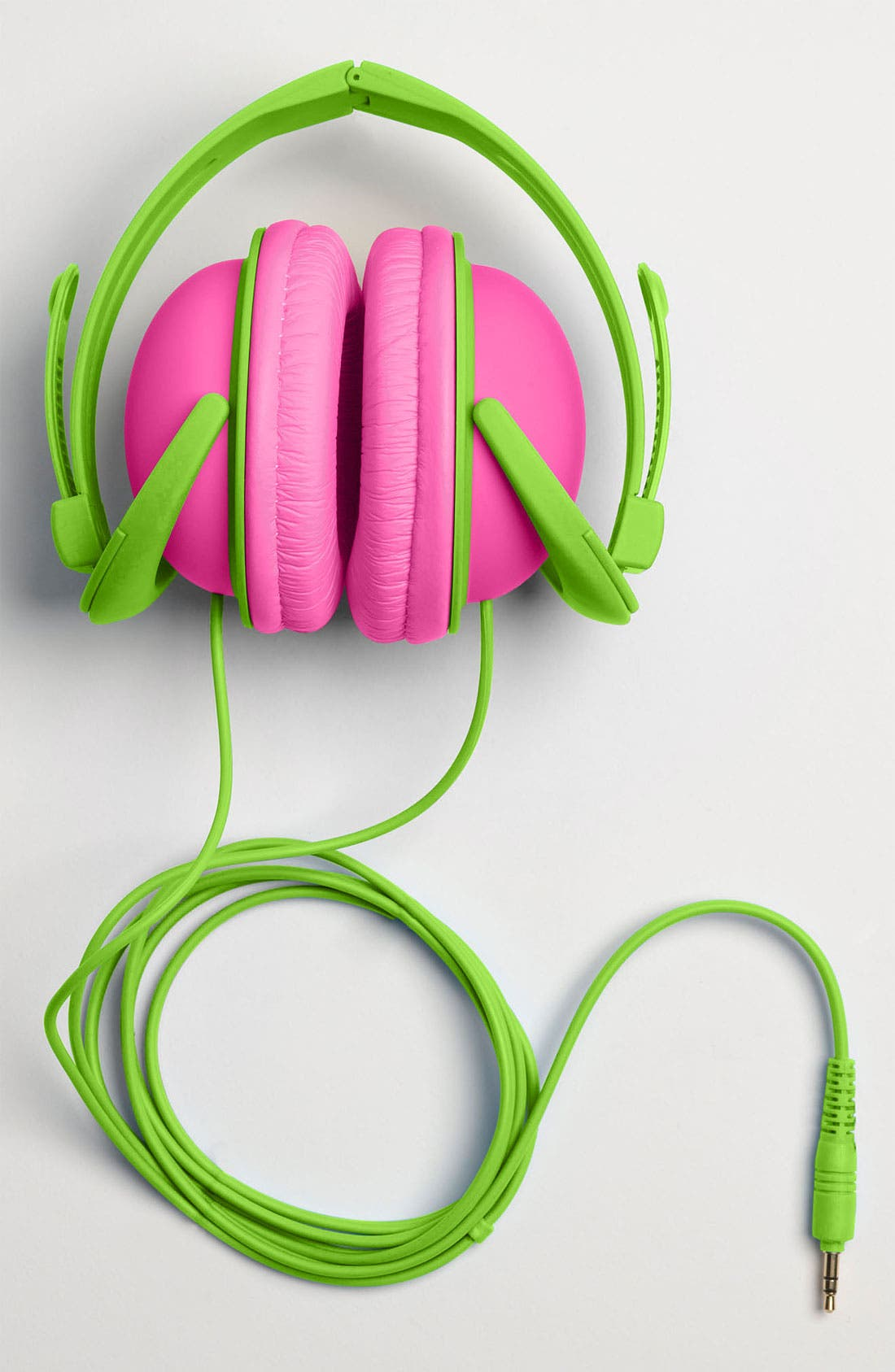 Alternate Image 3  - Decor Craft Colorblock Headphones