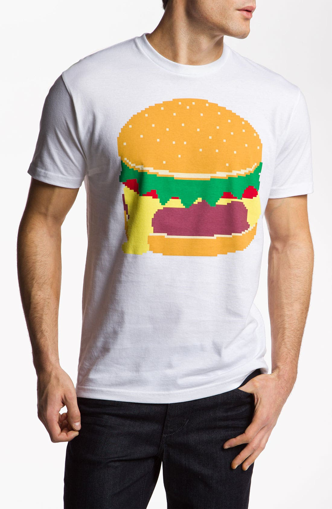 Alternate Image 1 Selected - Kid Dangerous Grime Couture 'Cheeseburger' Graphic T-Shirt