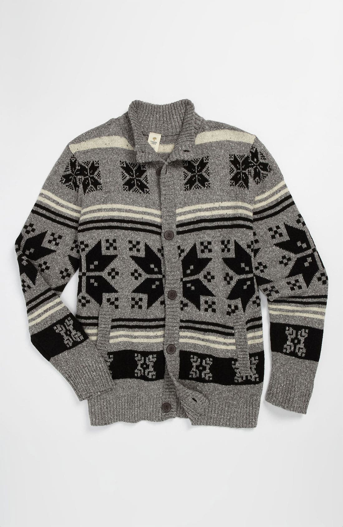 Main Image - Tucker + Tate 'Finnegan' Fair Isle Sweater (Big Boys)