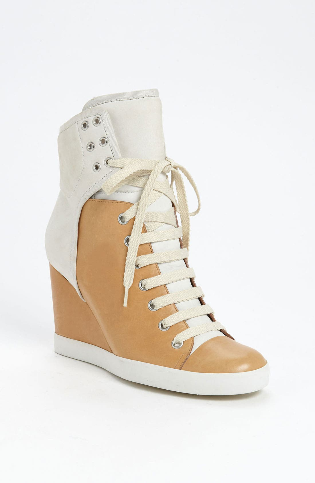 Alternate Image 1 Selected - See by Chloé High Top Wedge Sneaker
