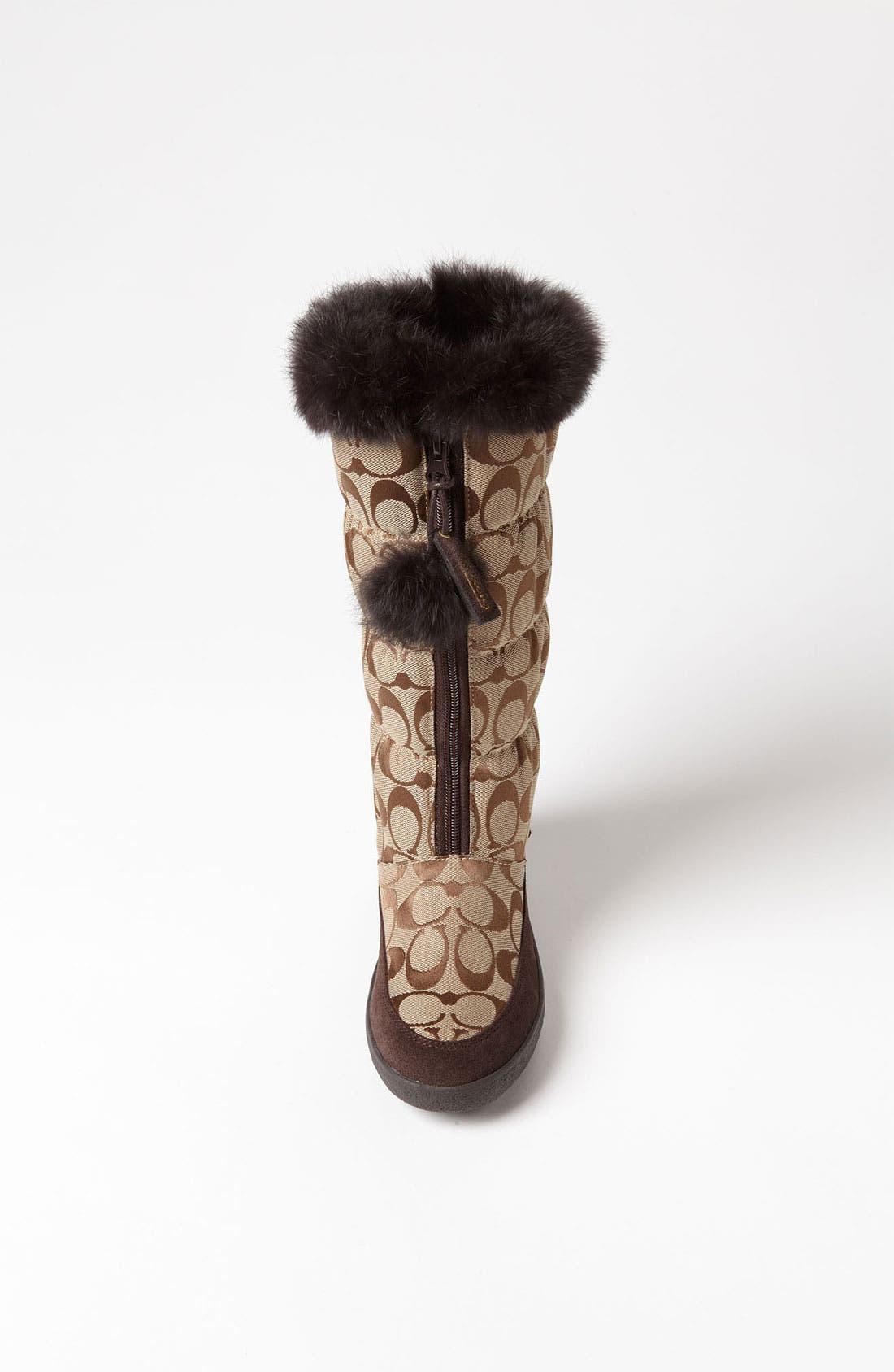 Alternate Image 4  - COACH 'Theona' Snow Boot