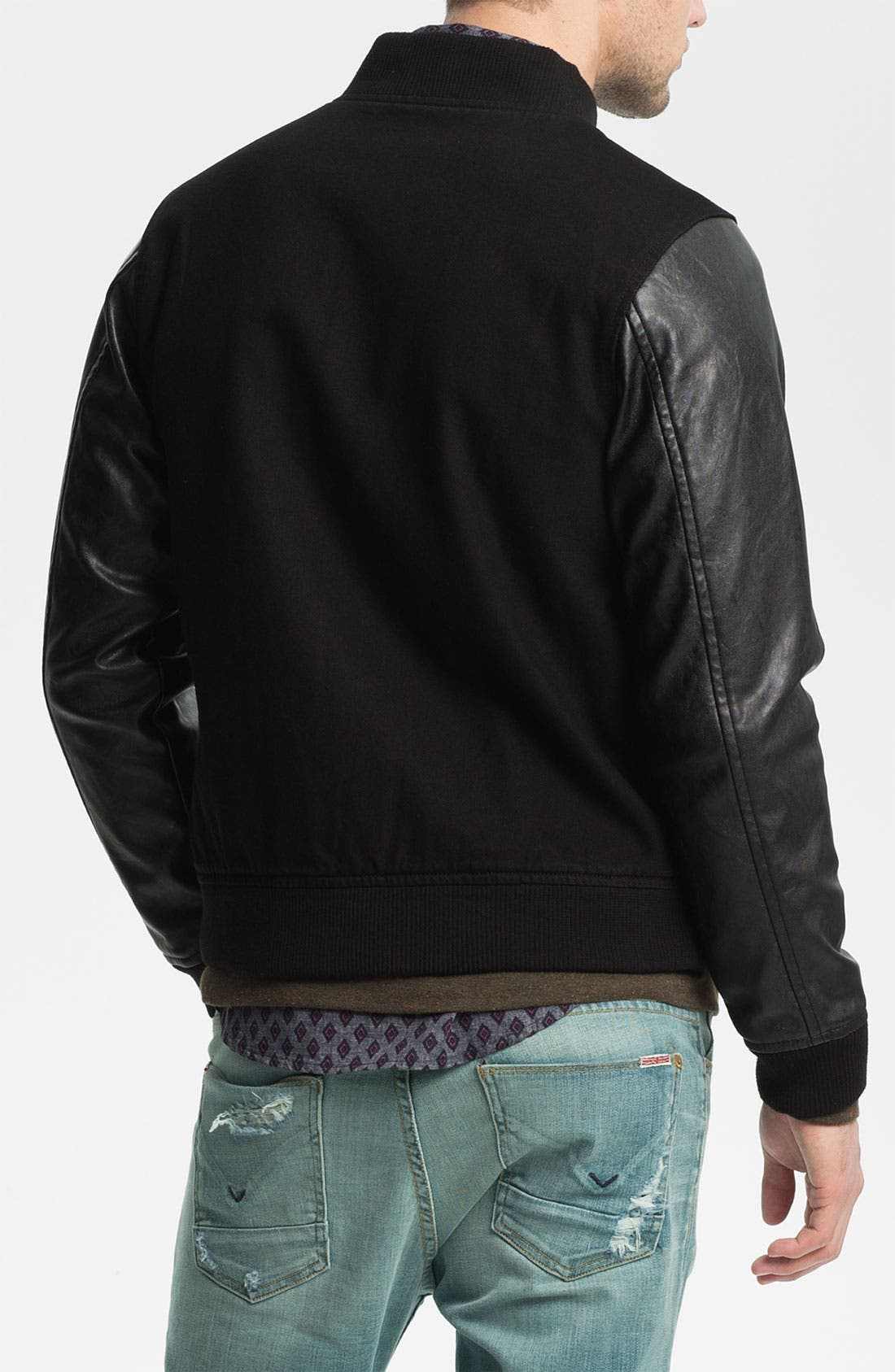 Alternate Image 2  - Obey 'Youth' Varsity Jacket