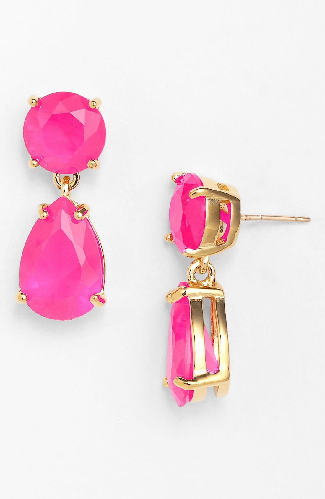 Main Image - kate spade new york boxed teardrop earrings