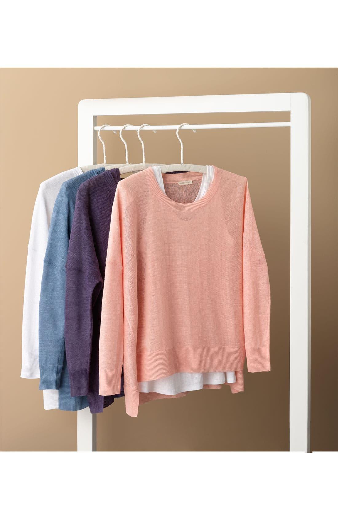 Alternate Image 6  - Eileen Fisher Lightweight Linen Tunic