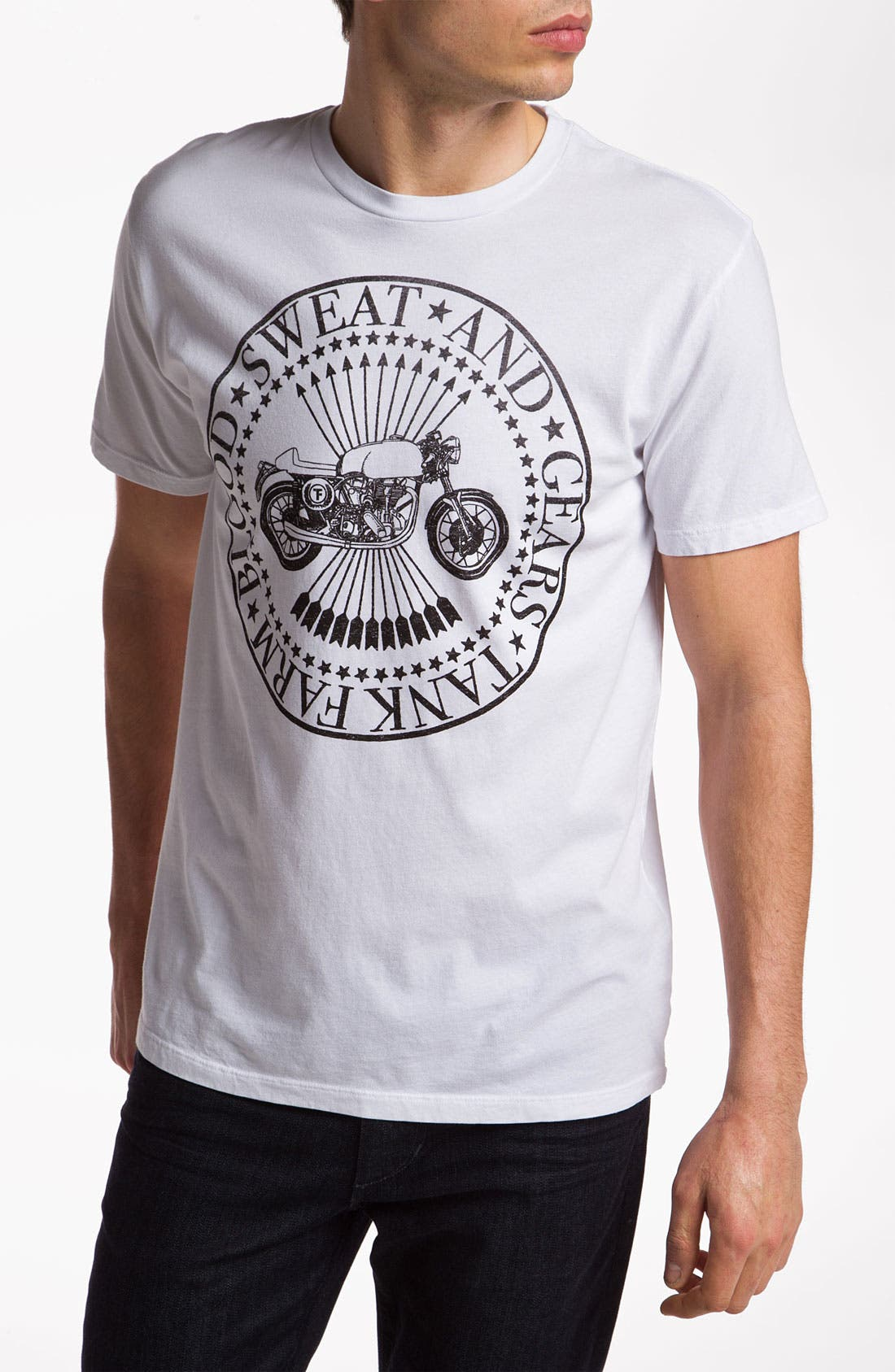 Main Image - Tankfarm 'Motor Stamp' Graphic T-Shirt