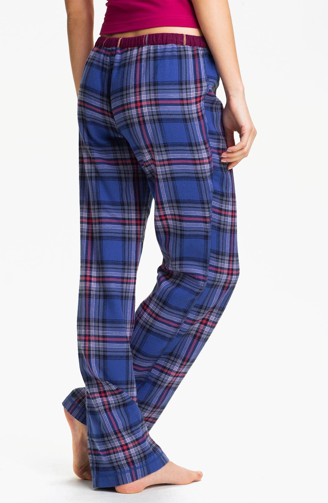 Alternate Image 2  - BP. 'Union' Flannel Lounge Pants (Juniors)