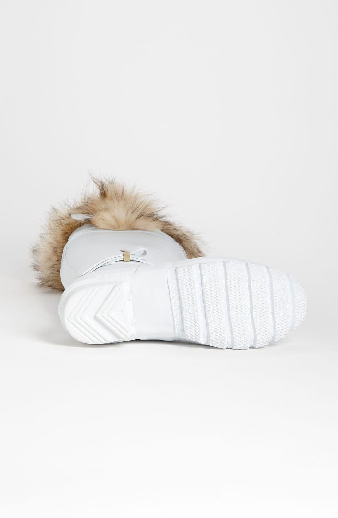 Alternate Image 4  - Hunter for J. Mendel Genuine Fur Trim Boot (Women)