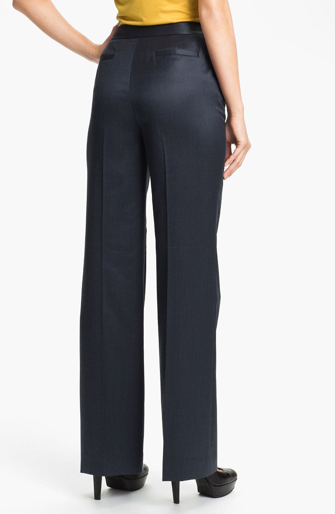 Alternate Image 2  - Classiques Entier® High Waist Wool Trousers